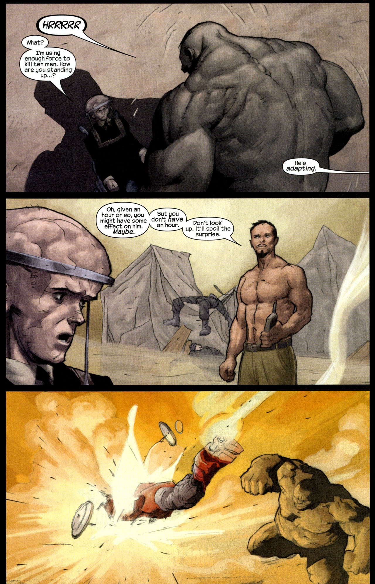 Read online Ultimate Human comic -  Issue #4 - 18