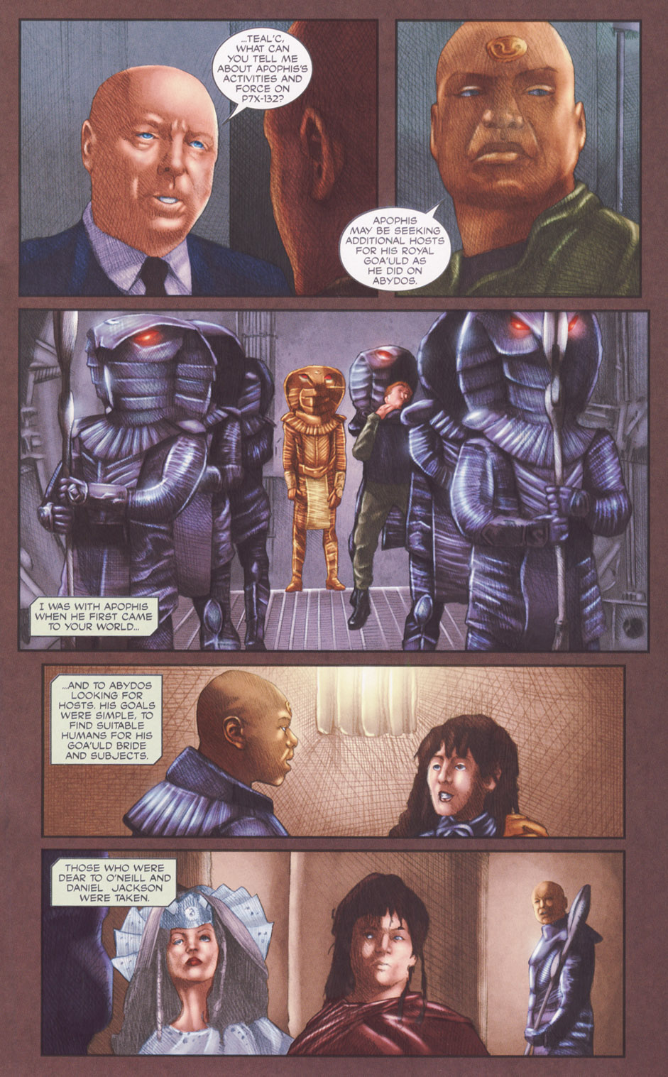 Read online Stargate SG-1: POW comic -  Issue #2 - 17