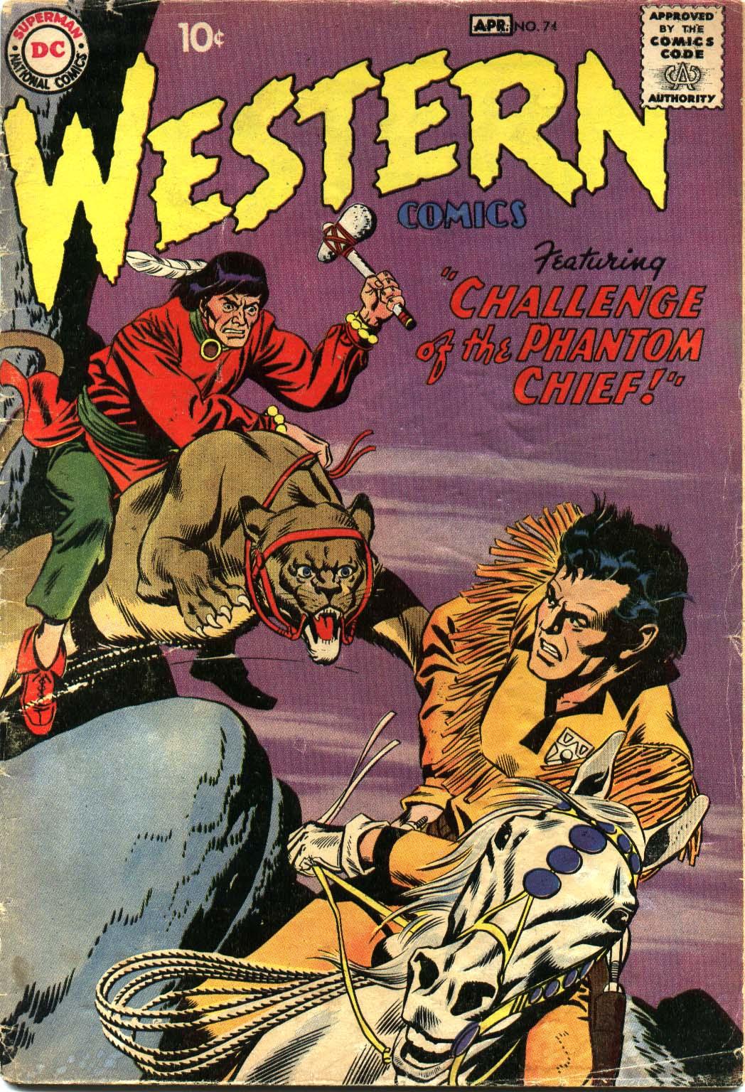 Western Comics 74 Page 1