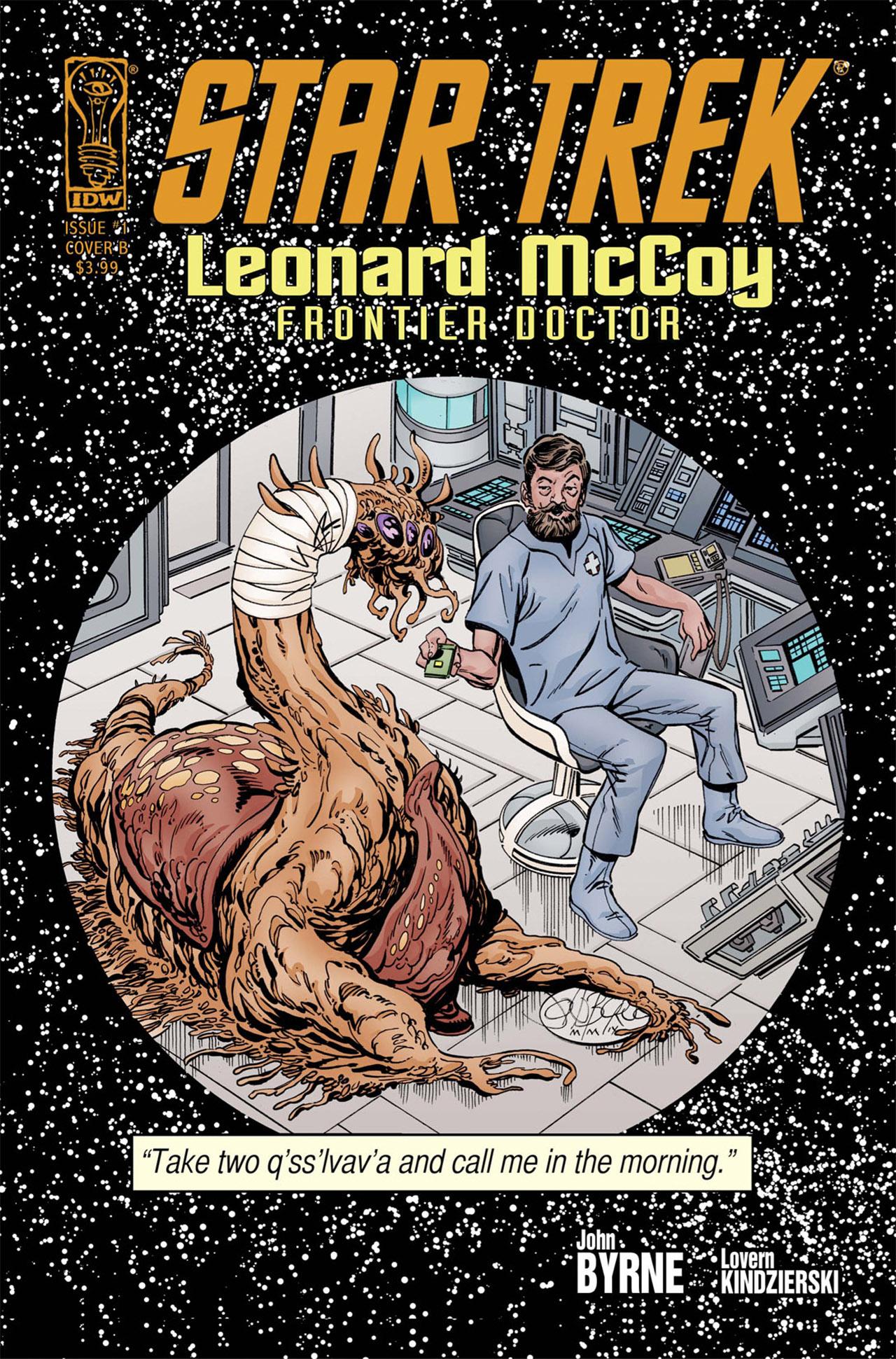 Read online Star Trek: Leonard McCoy, Frontier Doctor comic -  Issue #1 - 2