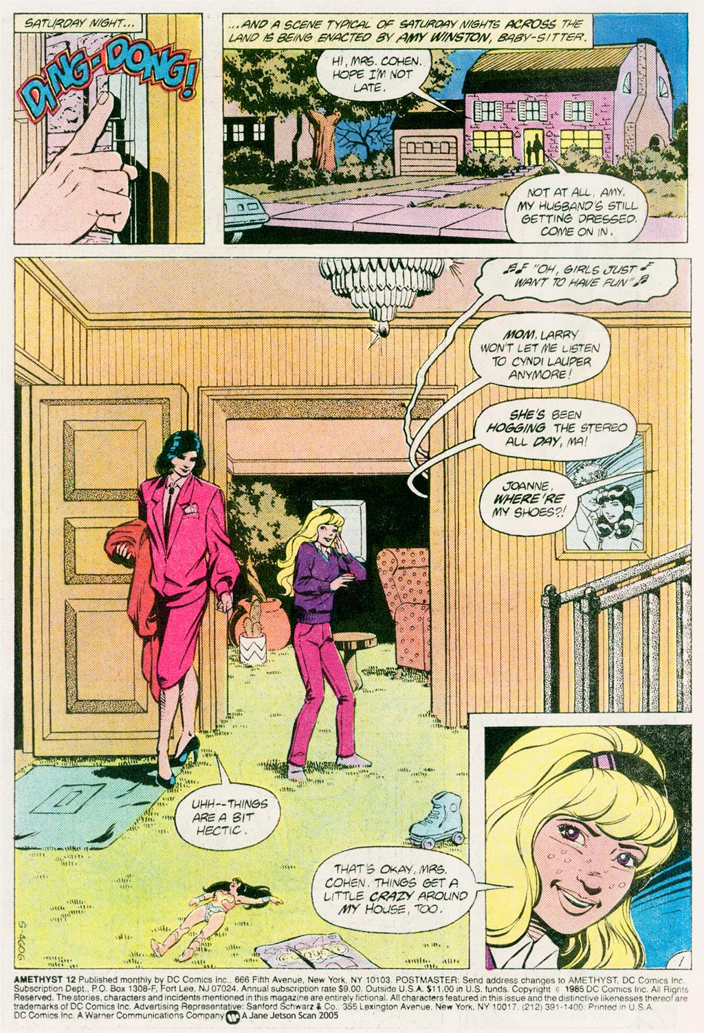 Read online Amethyst (1985) comic -  Issue #12 - 3