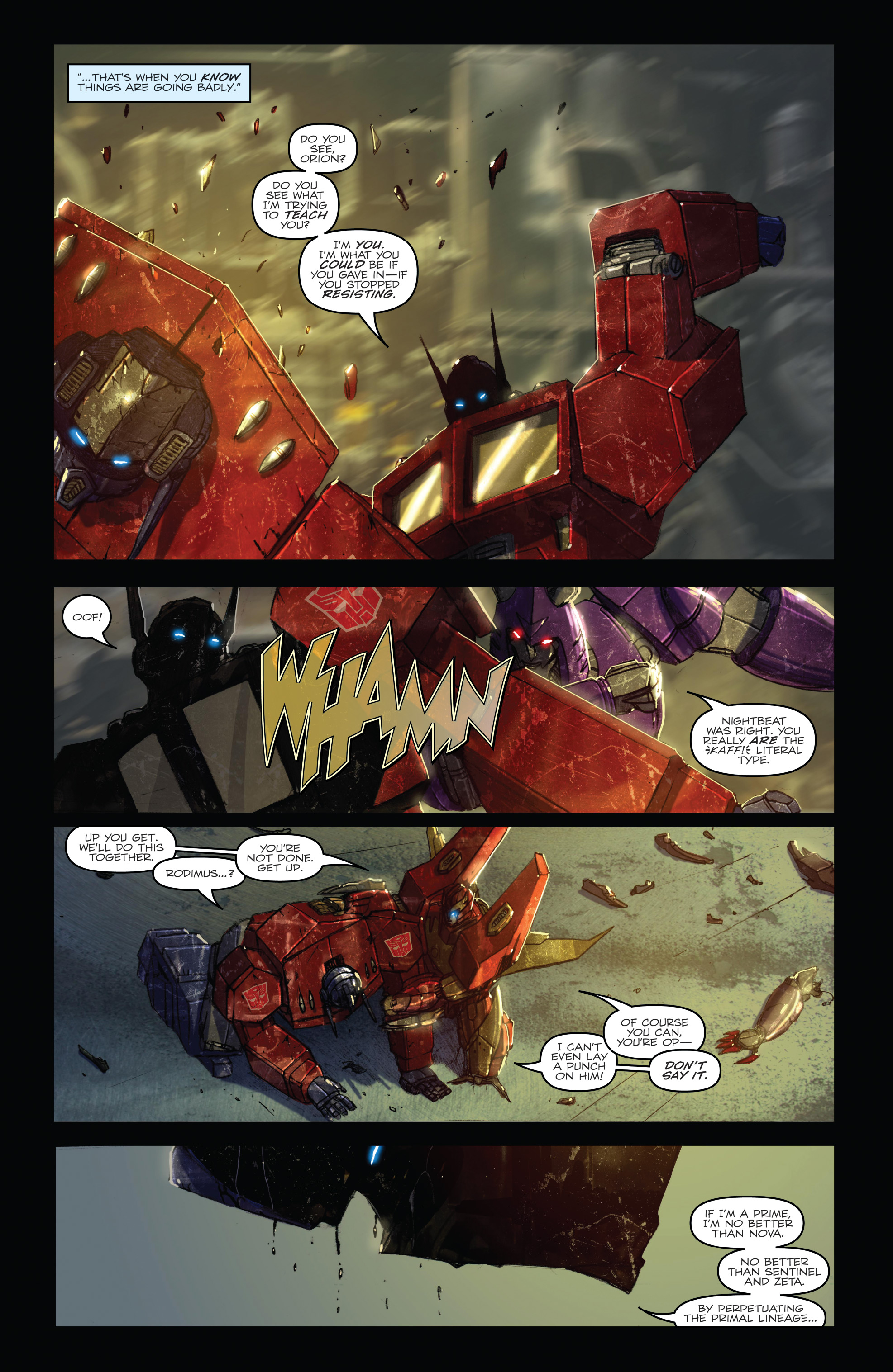 Read online The Transformers: Dark Cybertron Finale comic -  Issue # Full - 64