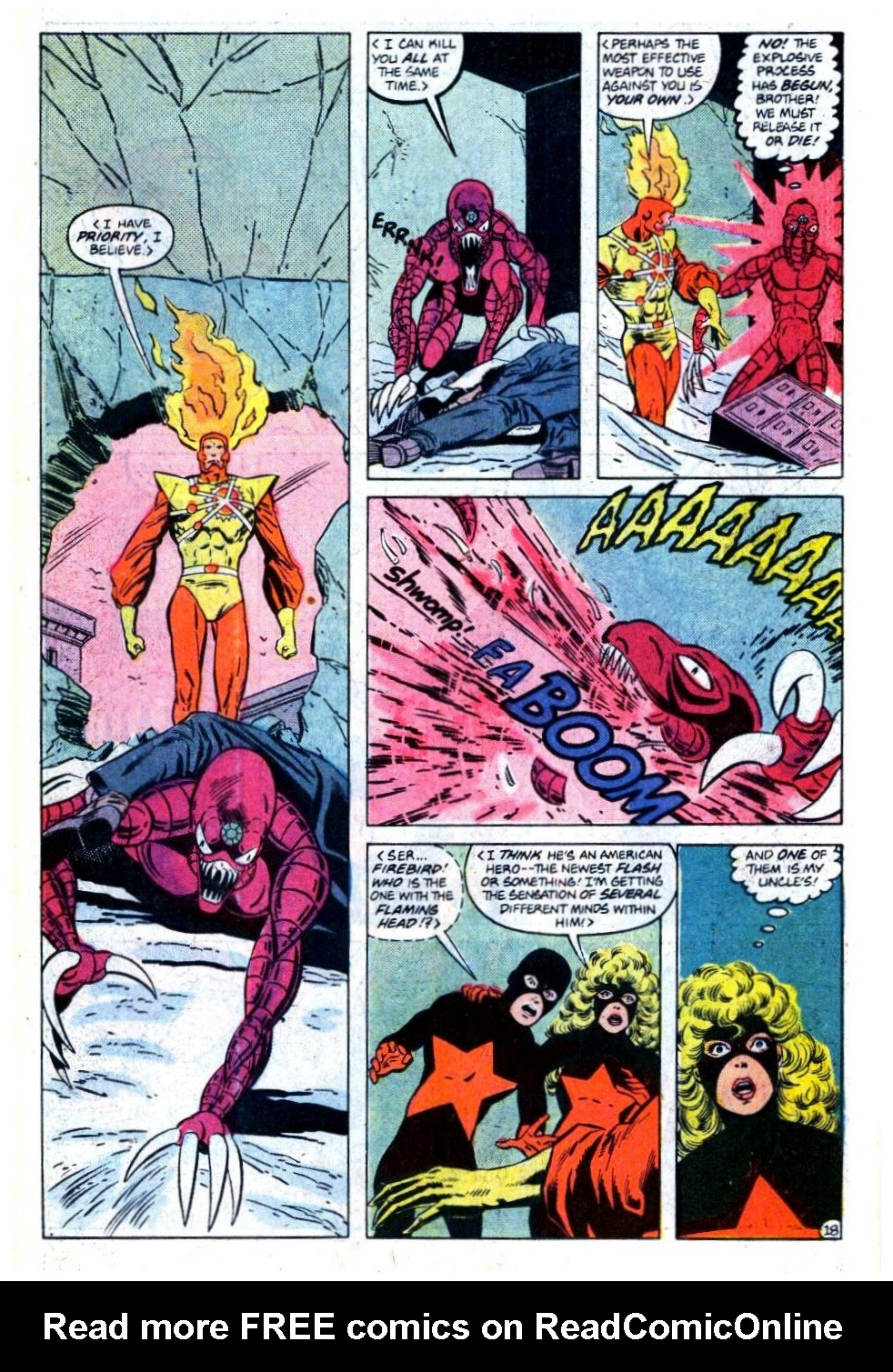 Firestorm, the Nuclear Man issue 73 - Page 19