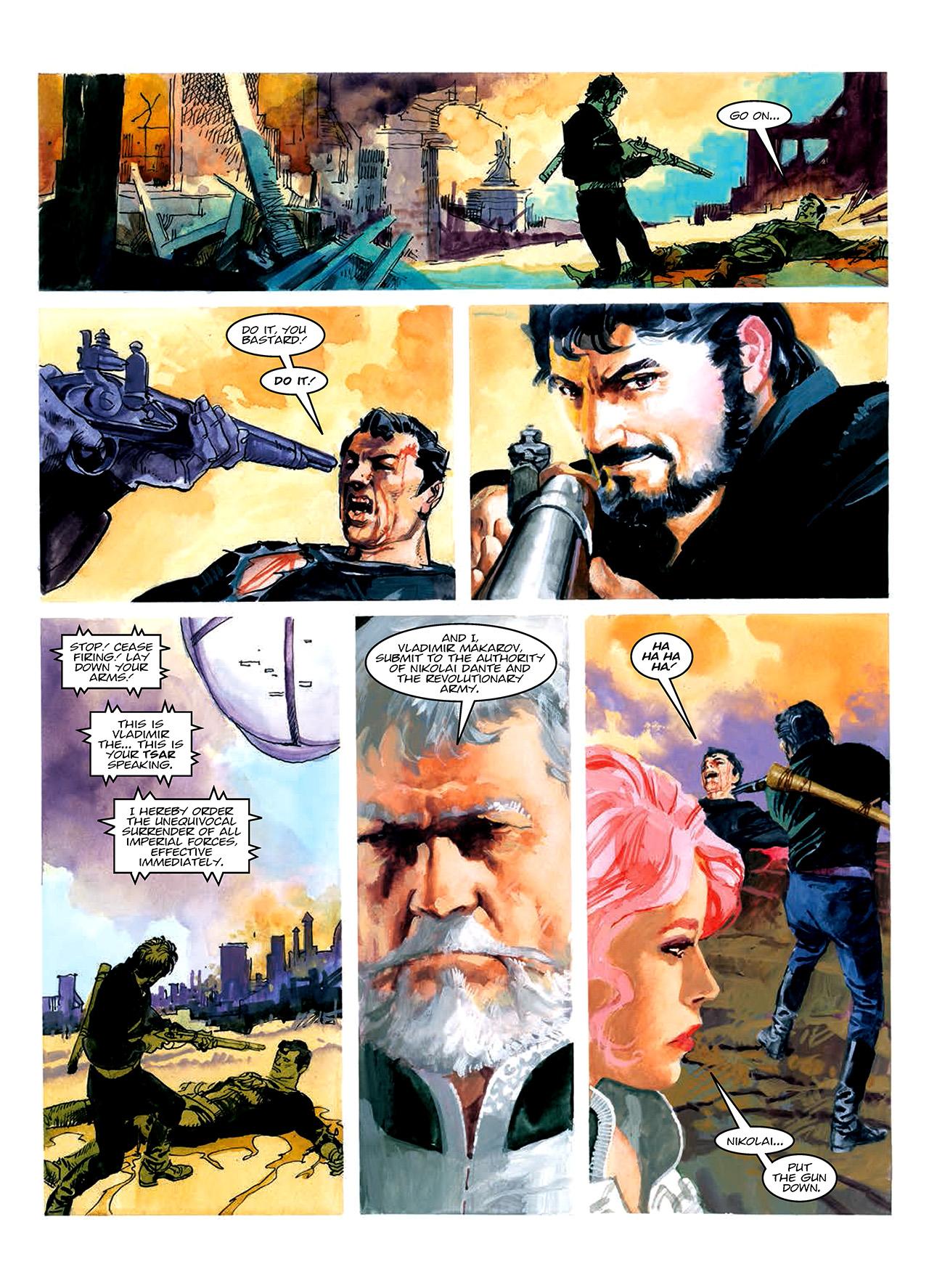 Read online Nikolai Dante comic -  Issue # TPB 10 - 76
