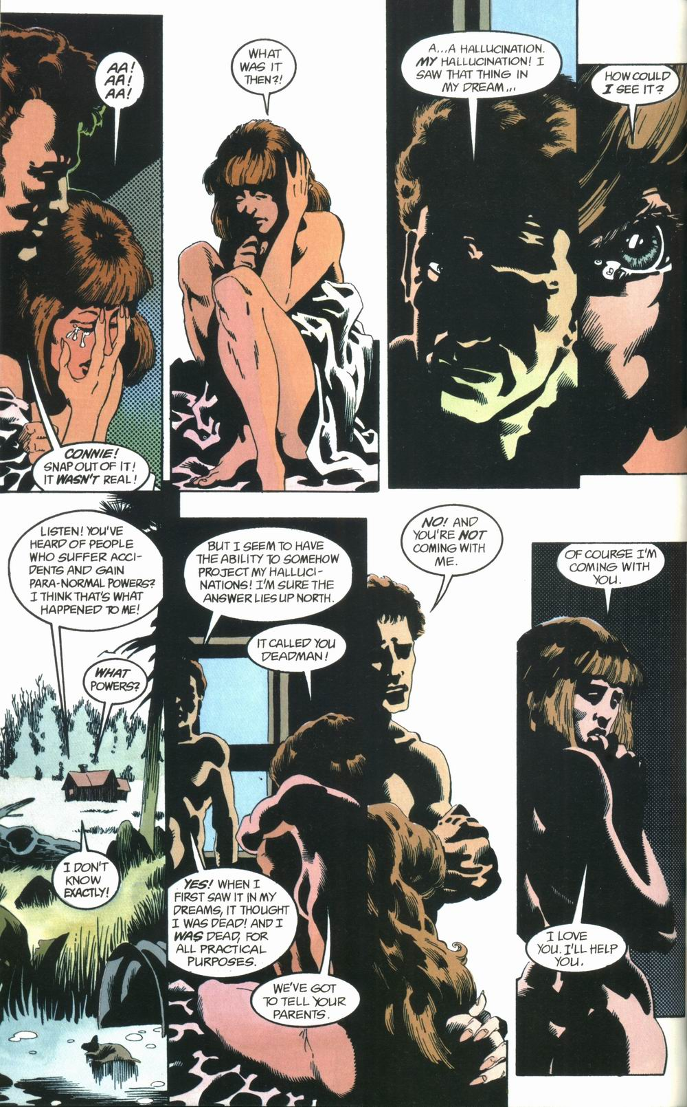 Read online Deadman: Love After Death comic -  Issue #1 - 32
