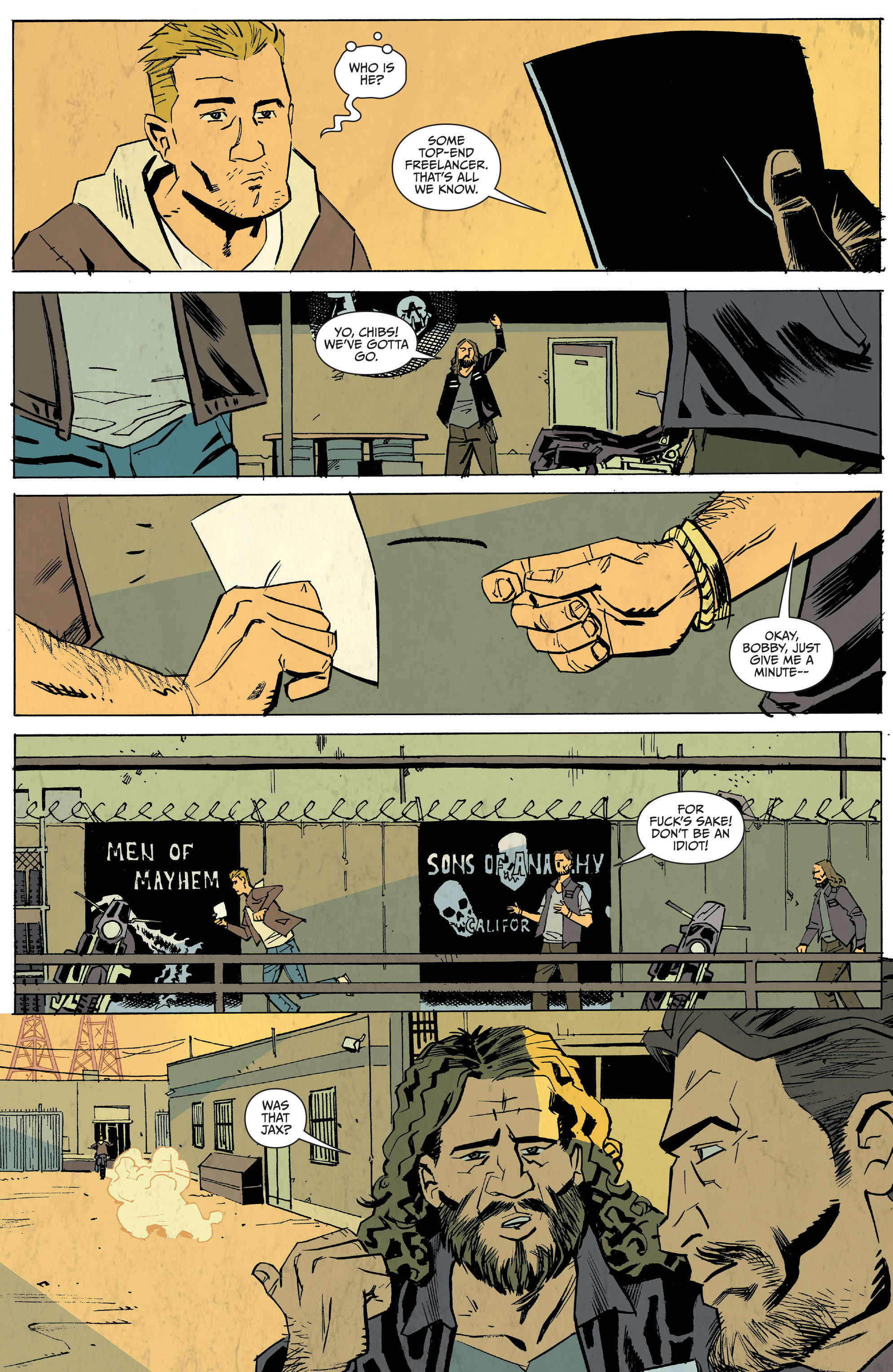 Read online Sons of Anarchy: Redwood Original comic -  Issue #5 - 14