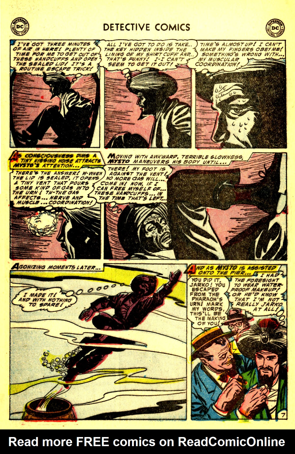 Read online Detective Comics (1937) comic -  Issue #211 - 40