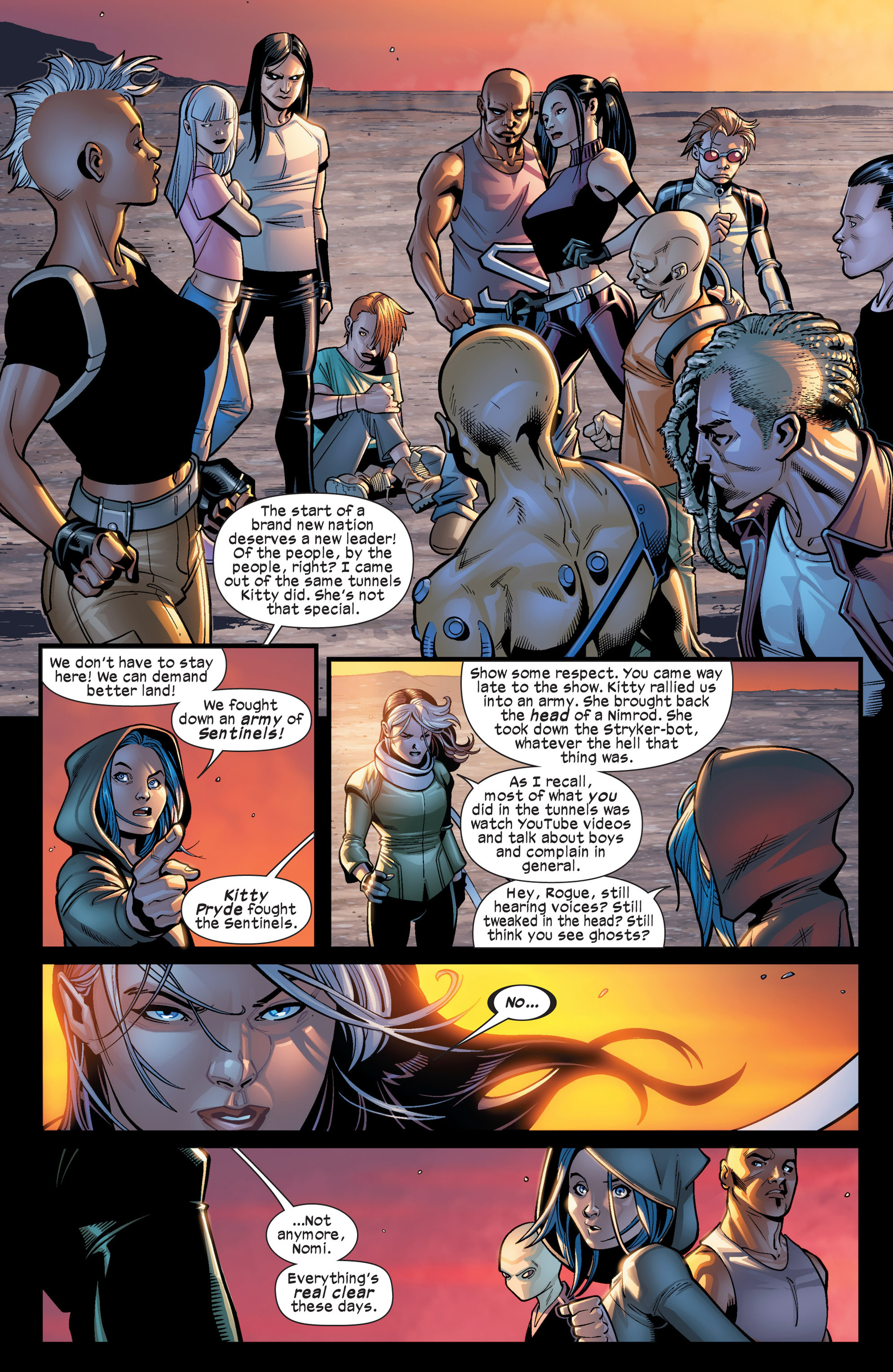 Read online Ultimate Comics X-Men comic -  Issue #19 - 7