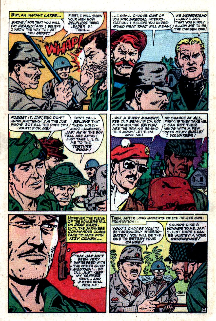 Read online Sgt. Fury comic -  Issue #49 - 17