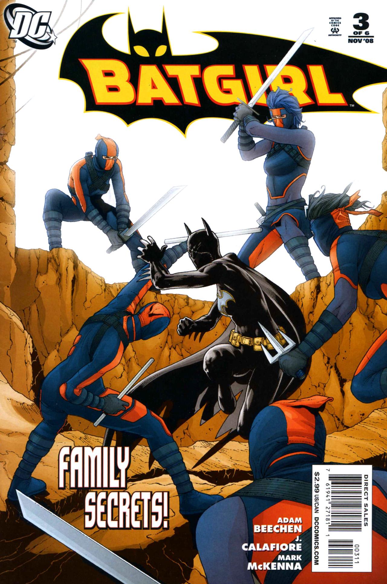 Batgirl (2008) 3 Page 1