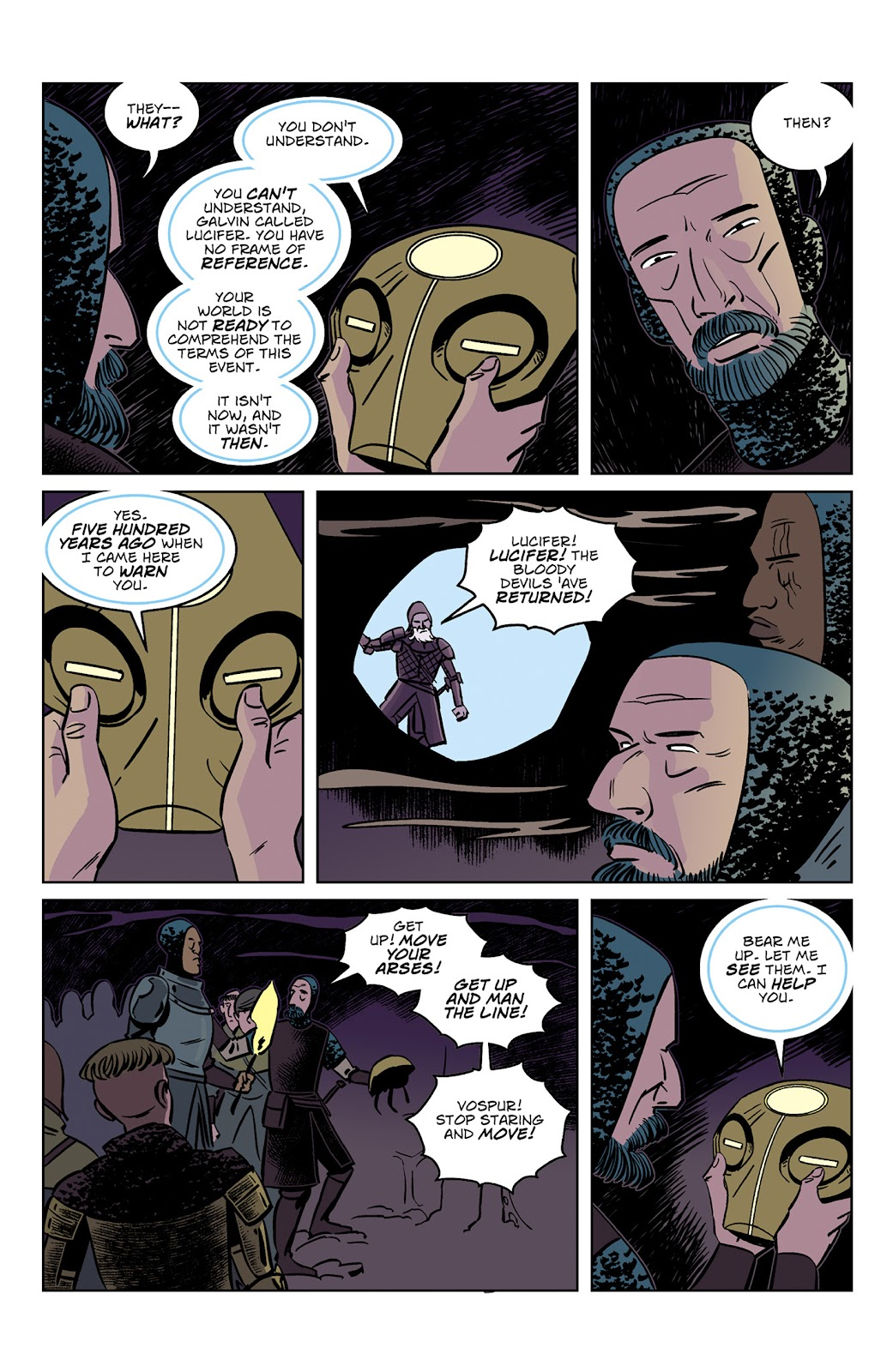 Read online Dark Ages comic -  Issue #3 - 9