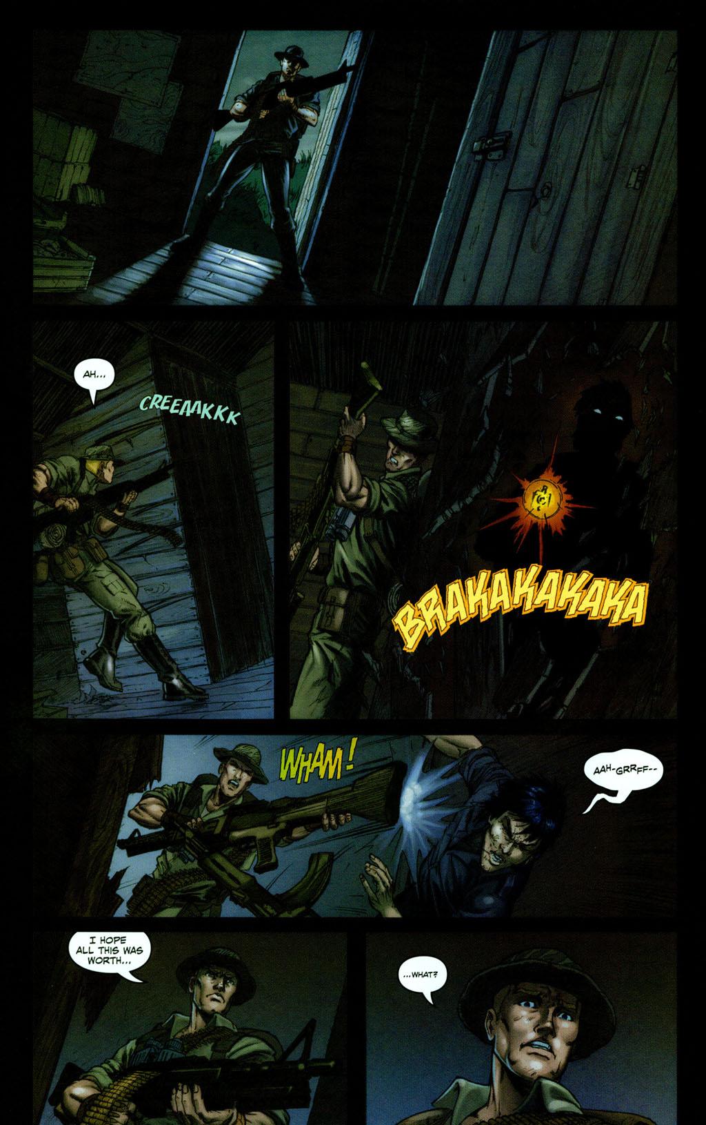 Read online Snake Eyes: Declassified comic -  Issue #1 - 12