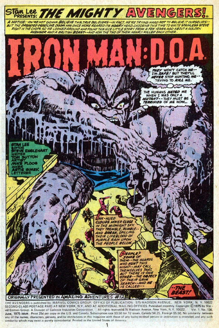 The Avengers (1963) 136 Page 1