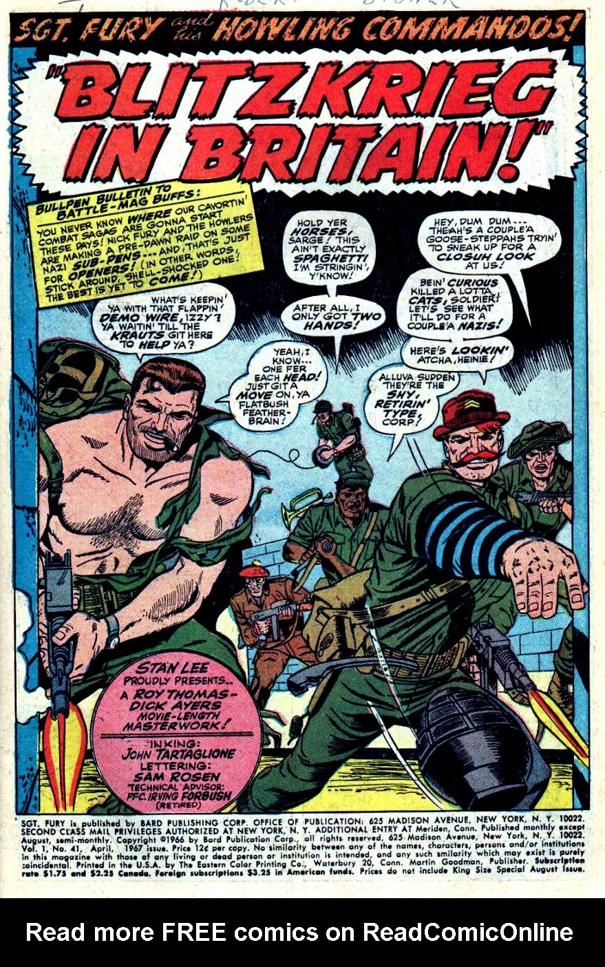 Read online Sgt. Fury comic -  Issue #41 - 3