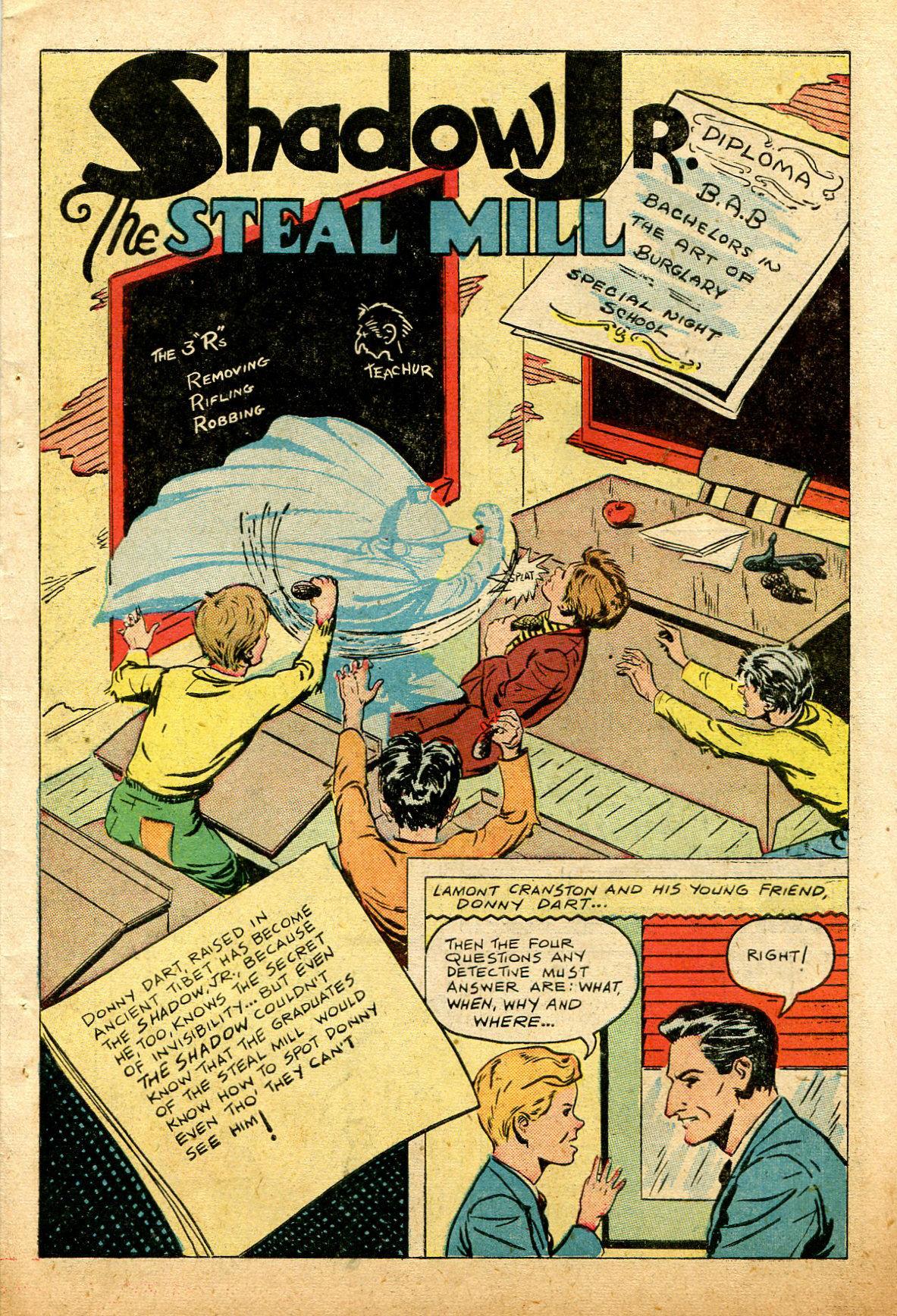 Read online Shadow Comics comic -  Issue #74 - 43