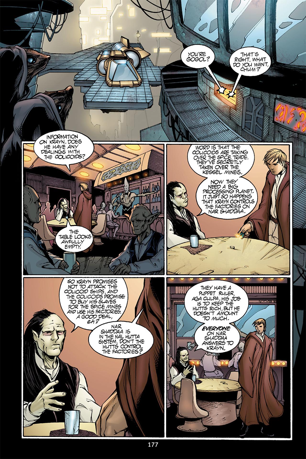 Read online Star Wars Omnibus comic -  Issue # Vol. 10 - 176