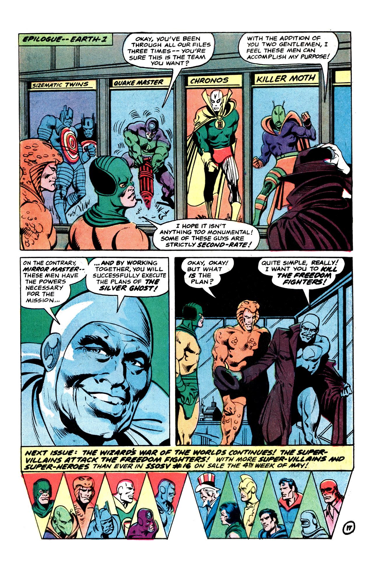 Read online Secret Society of Super-Villains comic -  Issue #15 - 31