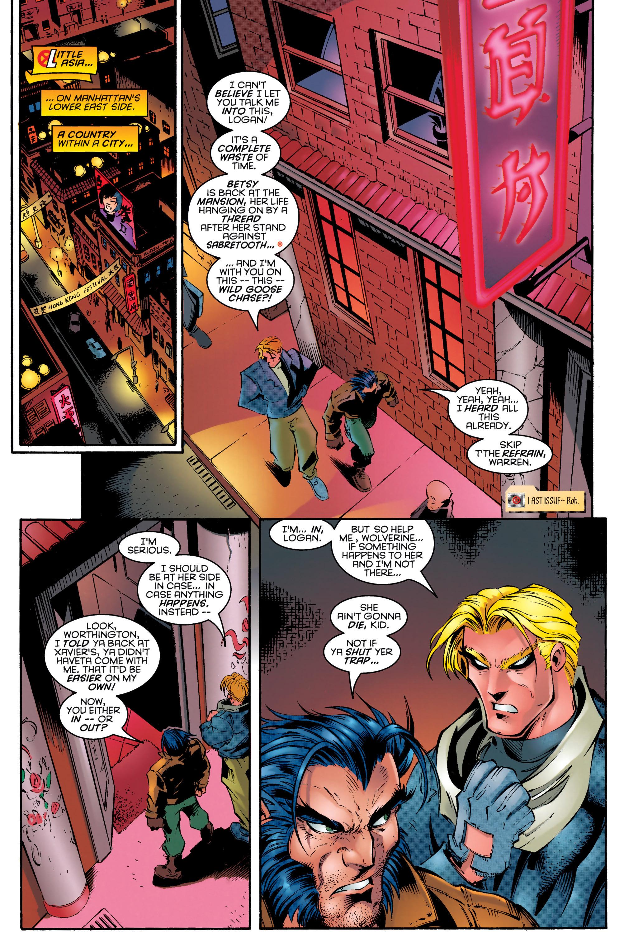 Read online Uncanny X-Men (1963) comic -  Issue #329 - 5