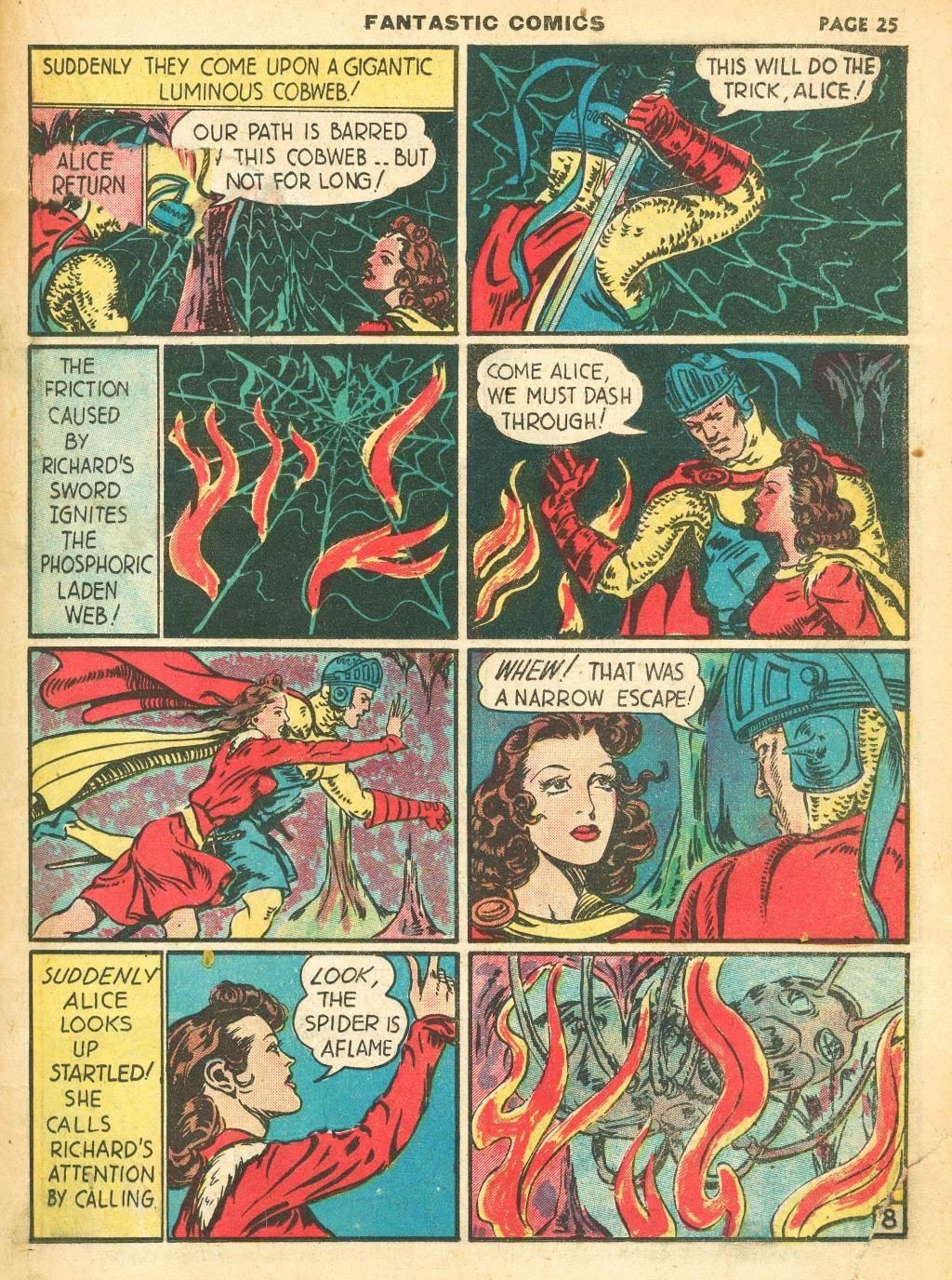 Read online Fantastic Comics comic -  Issue #12 - 27