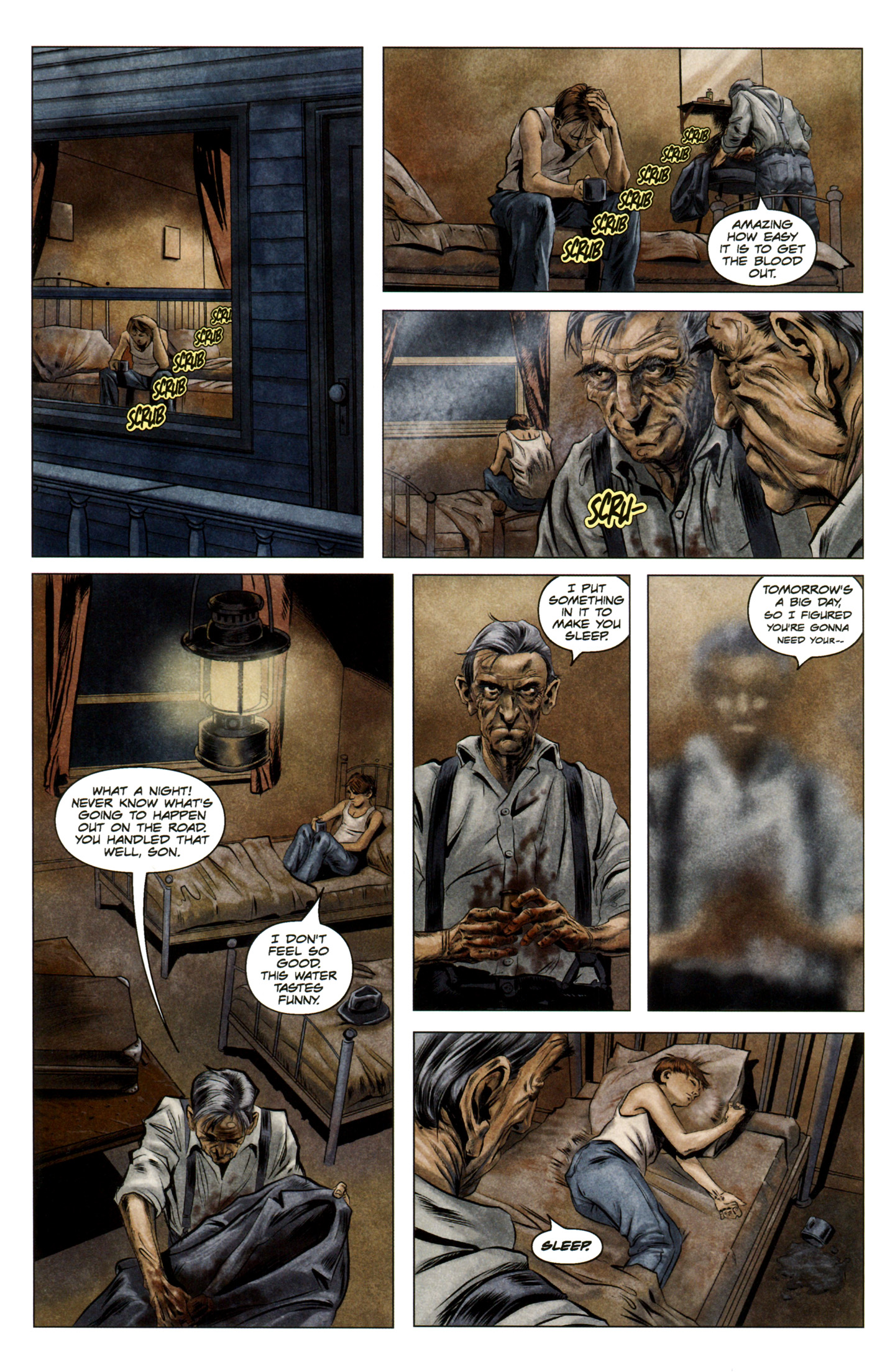 Read online Severed comic -  Issue #5 - 22