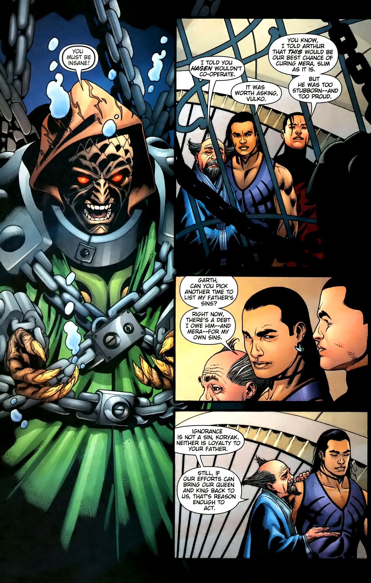 Read online Aquaman (2003) comic -  Issue #36 - 19
