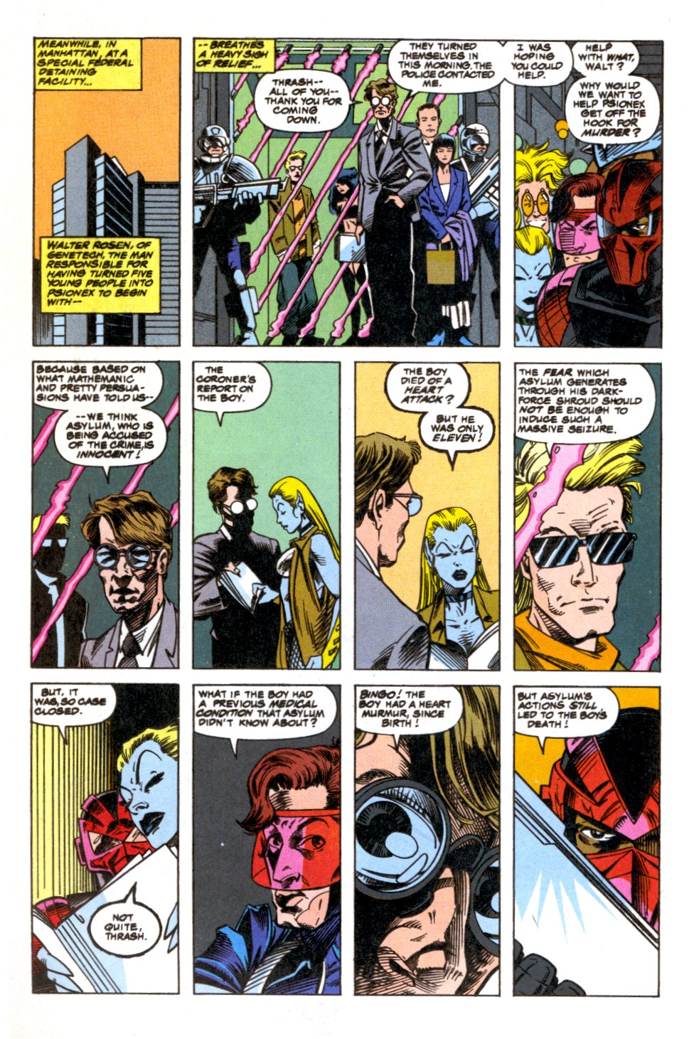 The New Warriors Issue #52 #56 - English 11