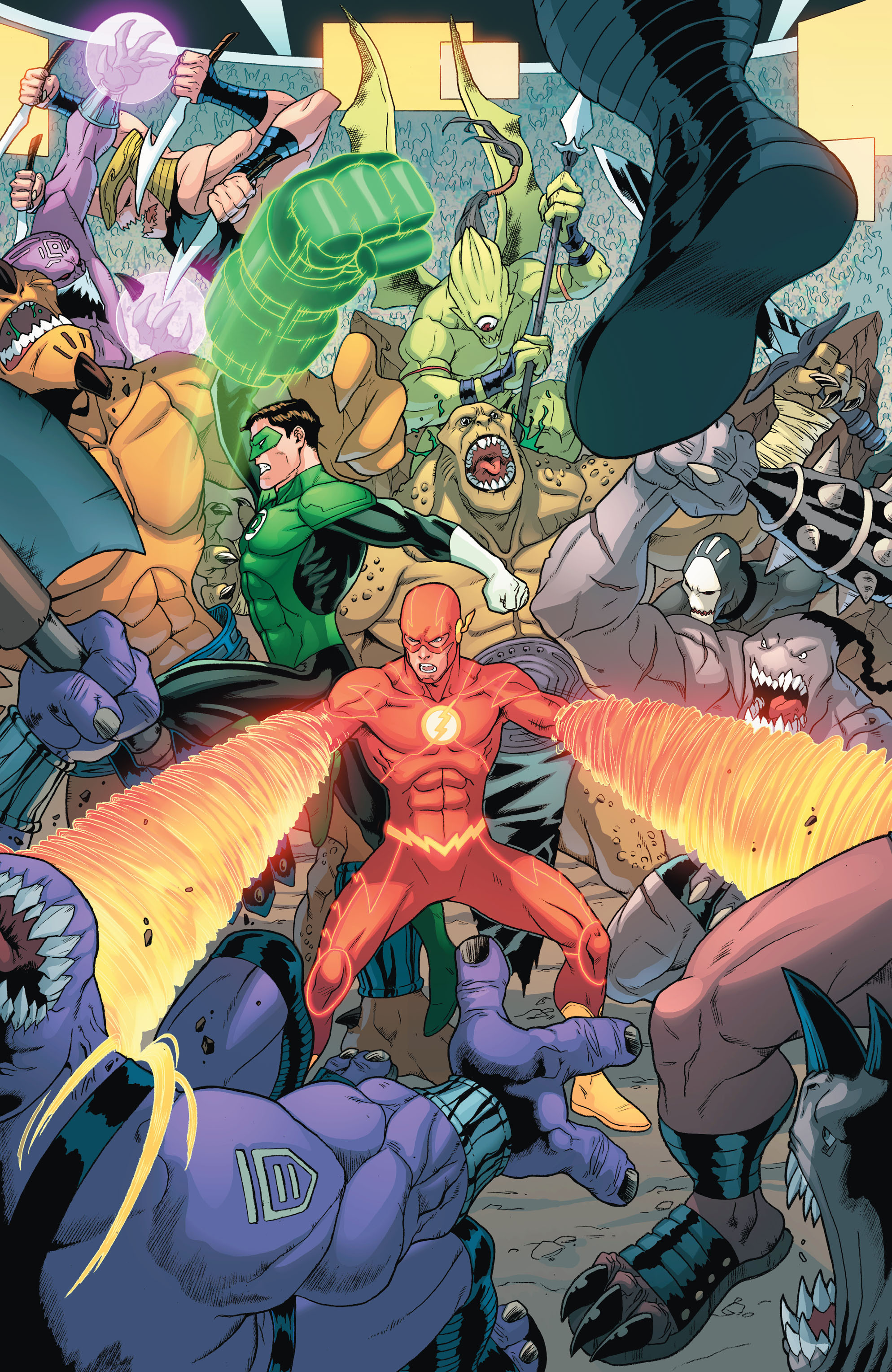 Read online The Flash (2011) comic -  Issue # _TPB 5 - 25