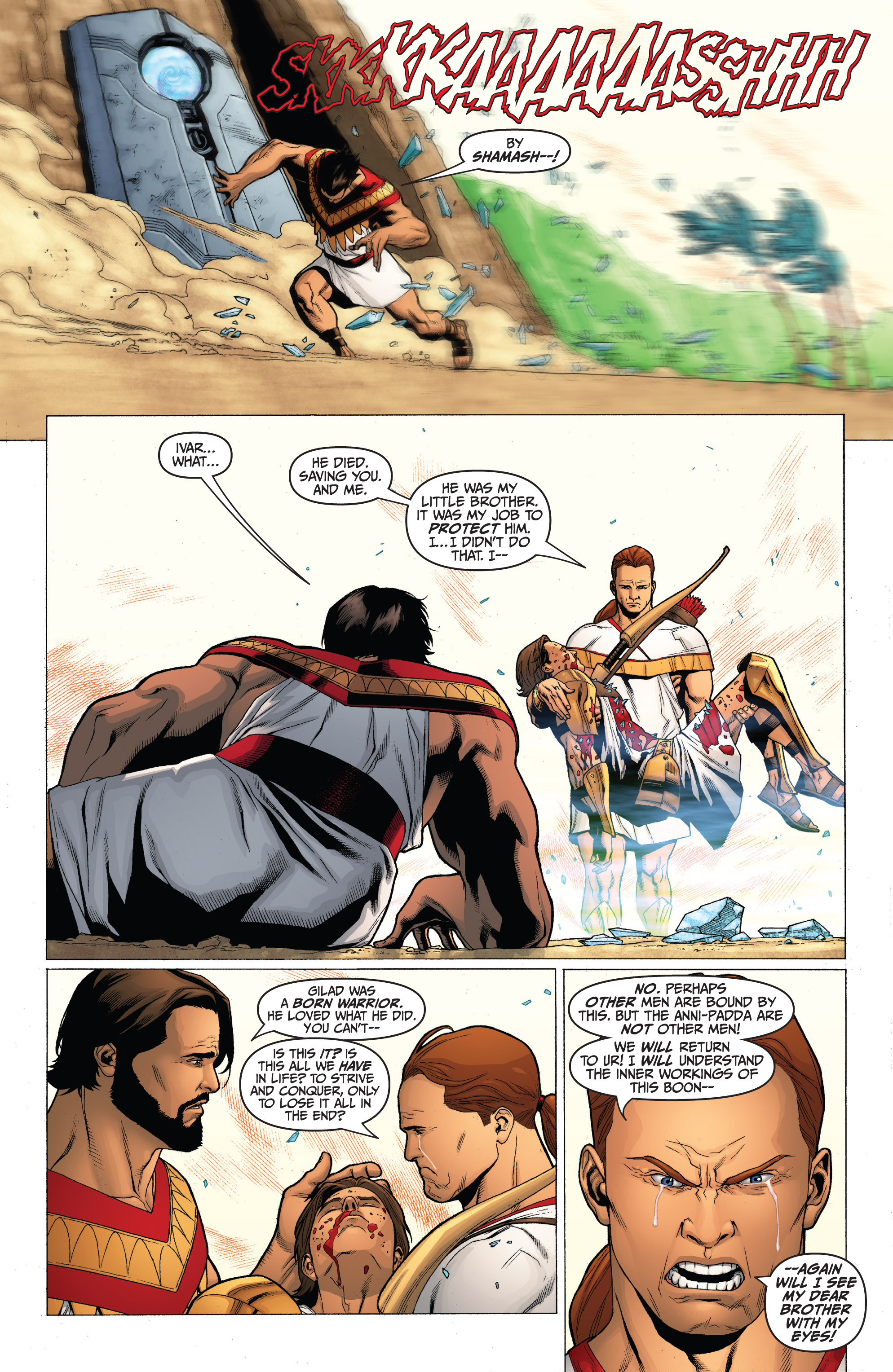 Read online Archer and Armstrong comic -  Issue #0 - 19
