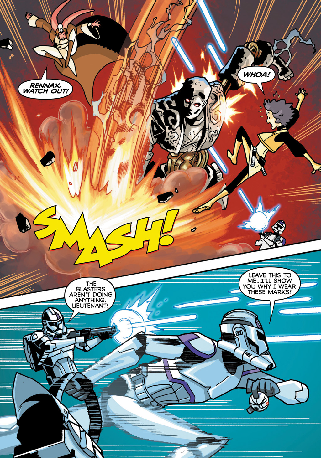 Read online Star Wars: The Clone Wars - Defenders of the Lost Temple comic -  Issue # Full - 16