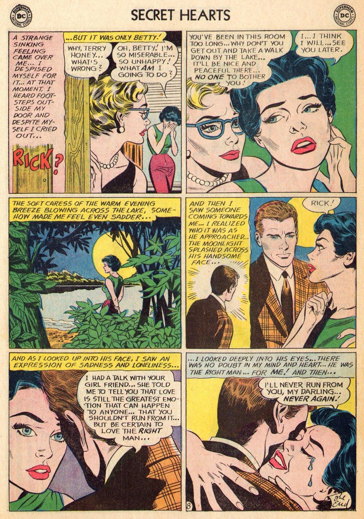 Read online Secret Hearts comic -  Issue #96 - 10