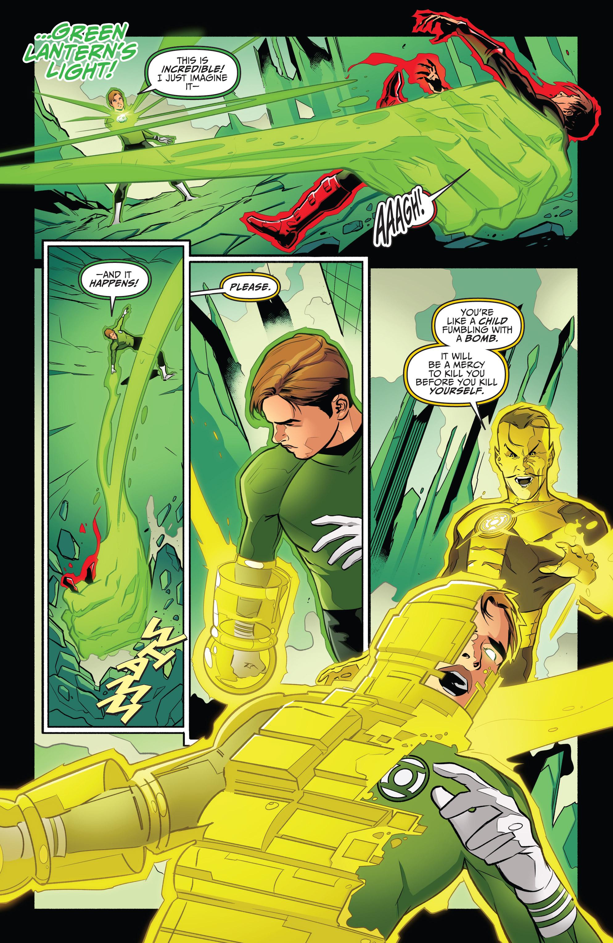 Read online Star Trek/Green Lantern (2016) comic -  Issue #6 - 6