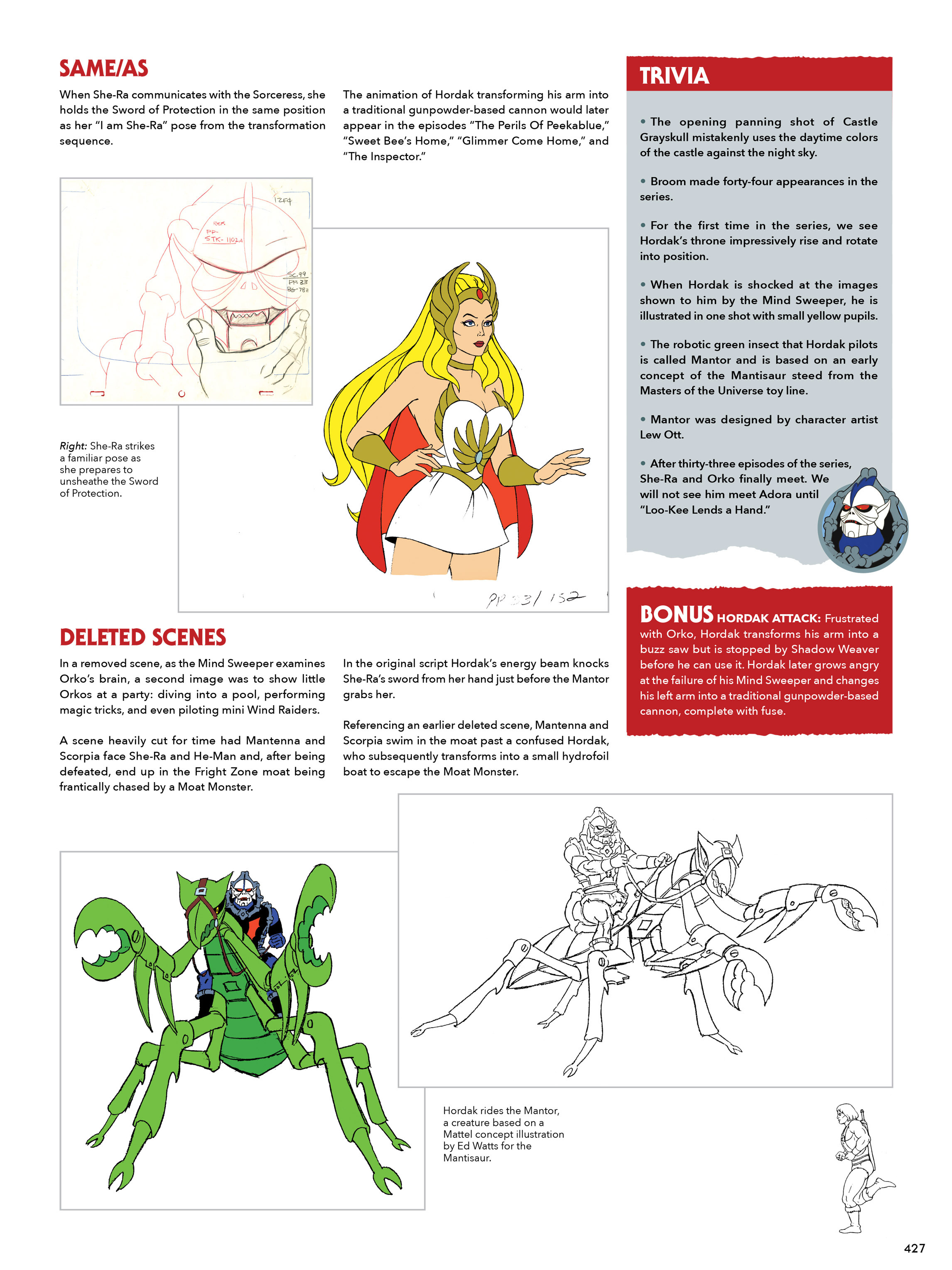 Read online He-Man and She-Ra: A Complete Guide to the Classic Animated Adventures comic -  Issue # TPB (Part 3) - 28