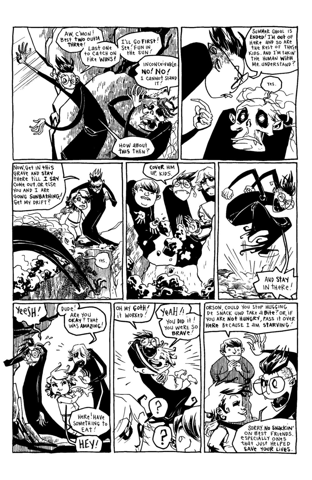 Read online Scary Godmother Comic Book Stories comic -  Issue # TPB - 221