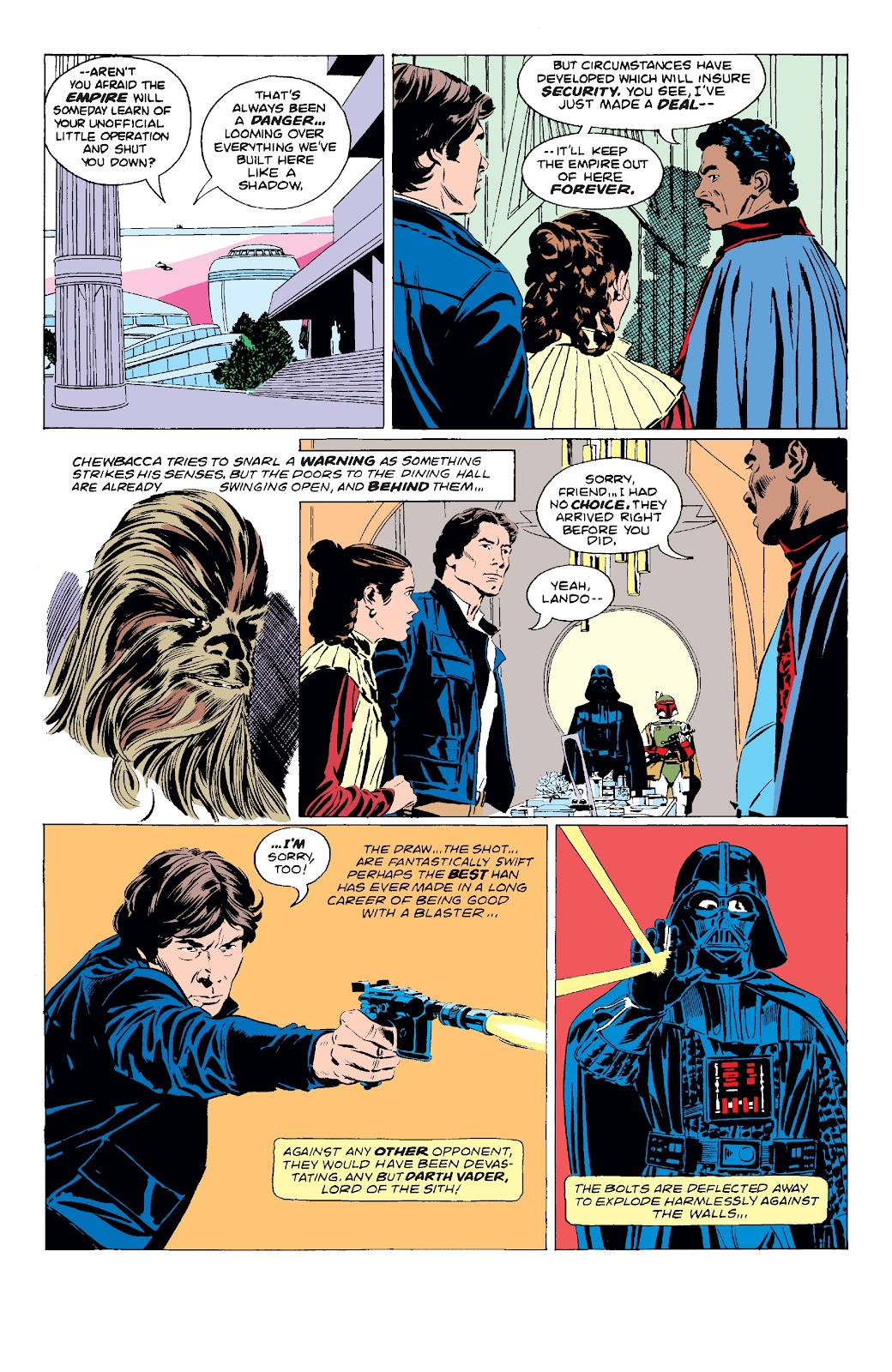 Read online Star Wars Legends: The Original Marvel Years - Epic Collection comic -  Issue # TPB 3 (Part 1) - 87