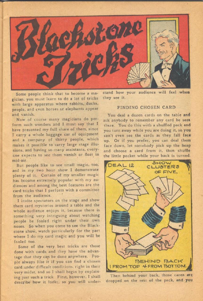 Read online Super-Magician Comics comic -  Issue #38 - 17