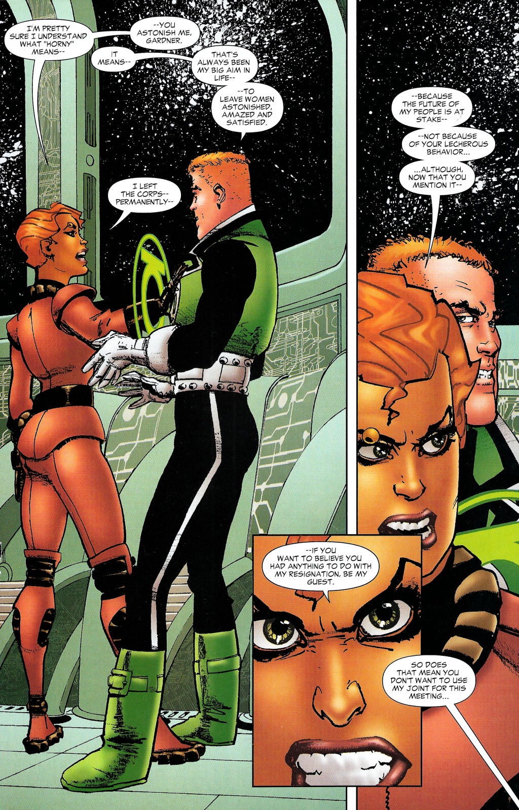 Read online Guy Gardner: Collateral Damage comic -  Issue #1 - 36