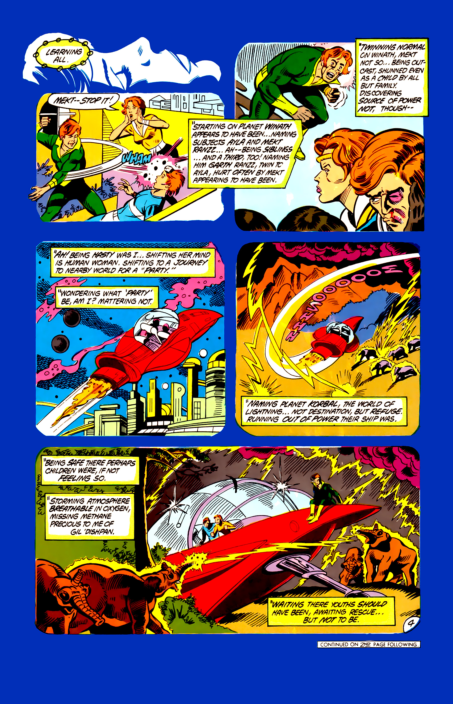 Legion of Super-Heroes (1984) 6 Page 4