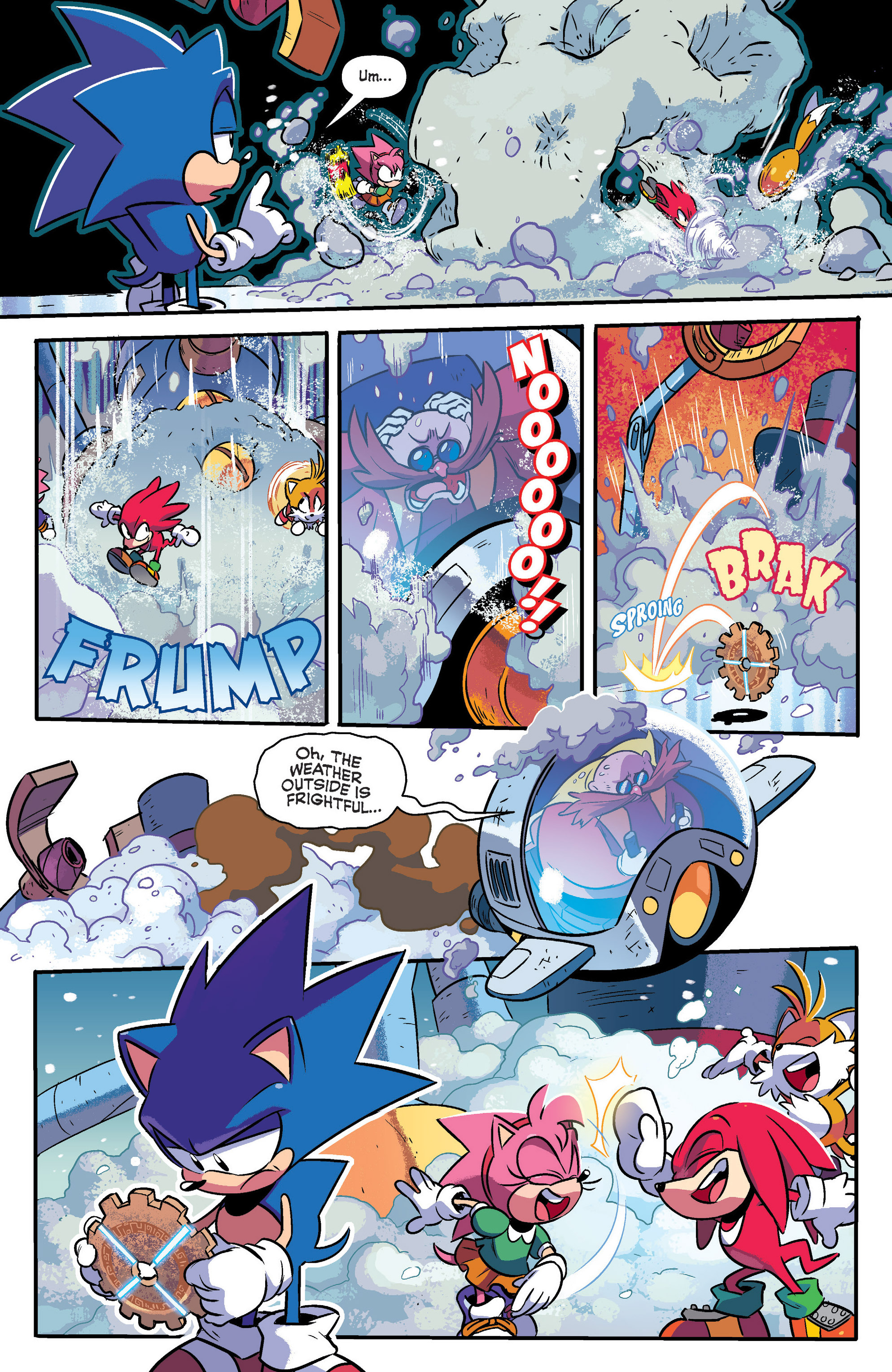 Read online Sonic: Mega Drive - The Next Level comic -  Issue # Full - 7