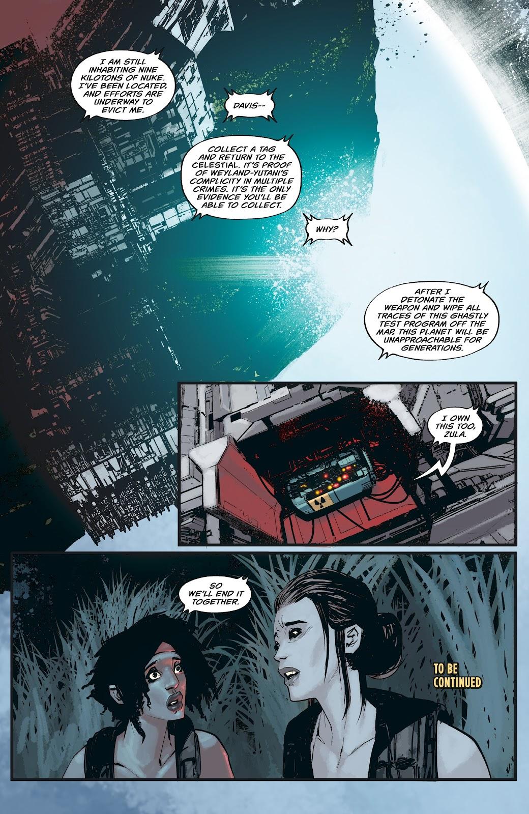 Read online Aliens: Resistance comic -  Issue #3 - 22