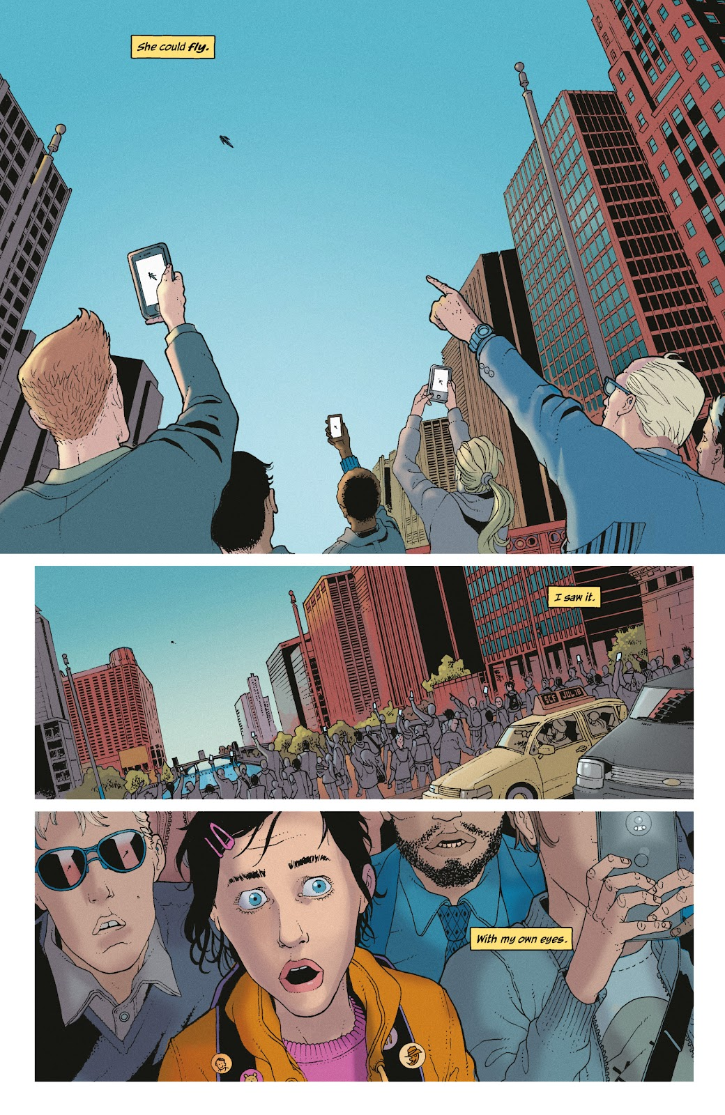 Read online She Could Fly comic -  Issue # _TPB - 8