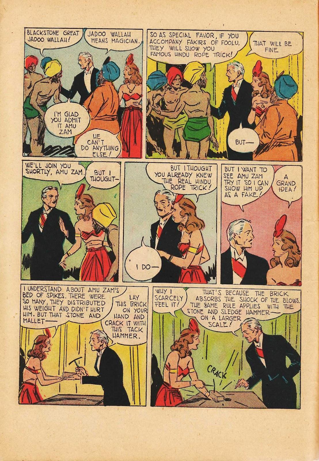 Super-Magician Comics issue 22 - Page 8