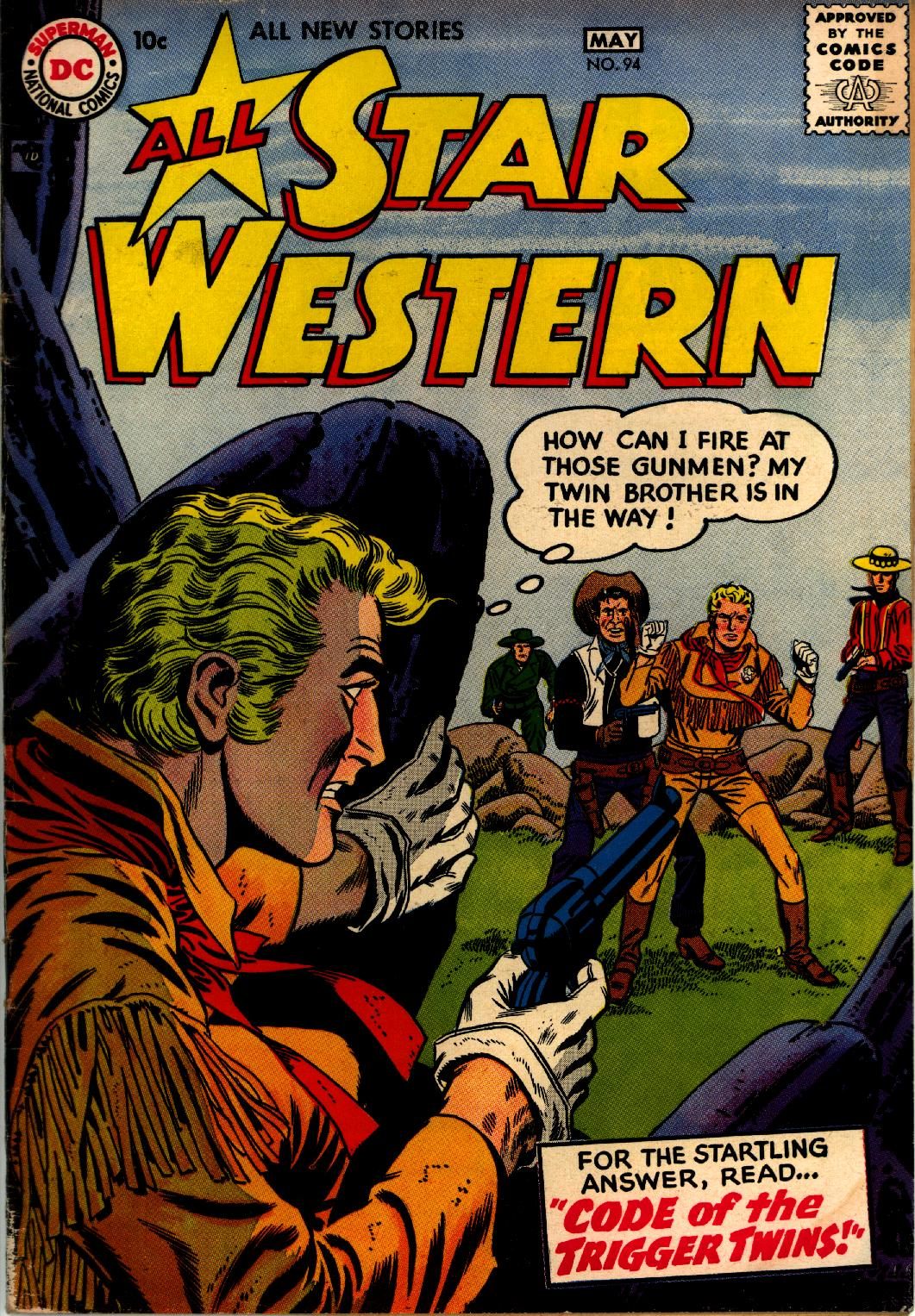 Read online All-Star Western (1951) comic -  Issue #94 - 1