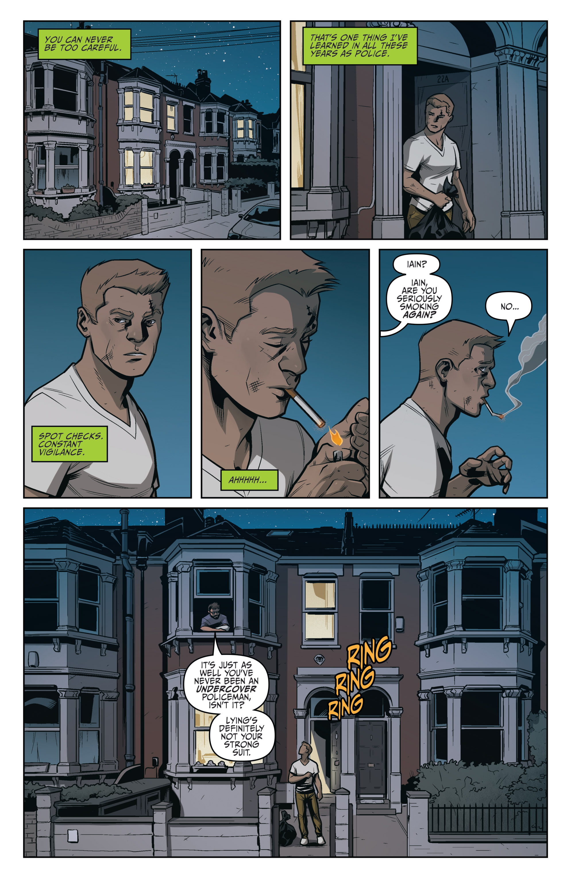 Read online Darkness Visible comic -  Issue #5 - 3