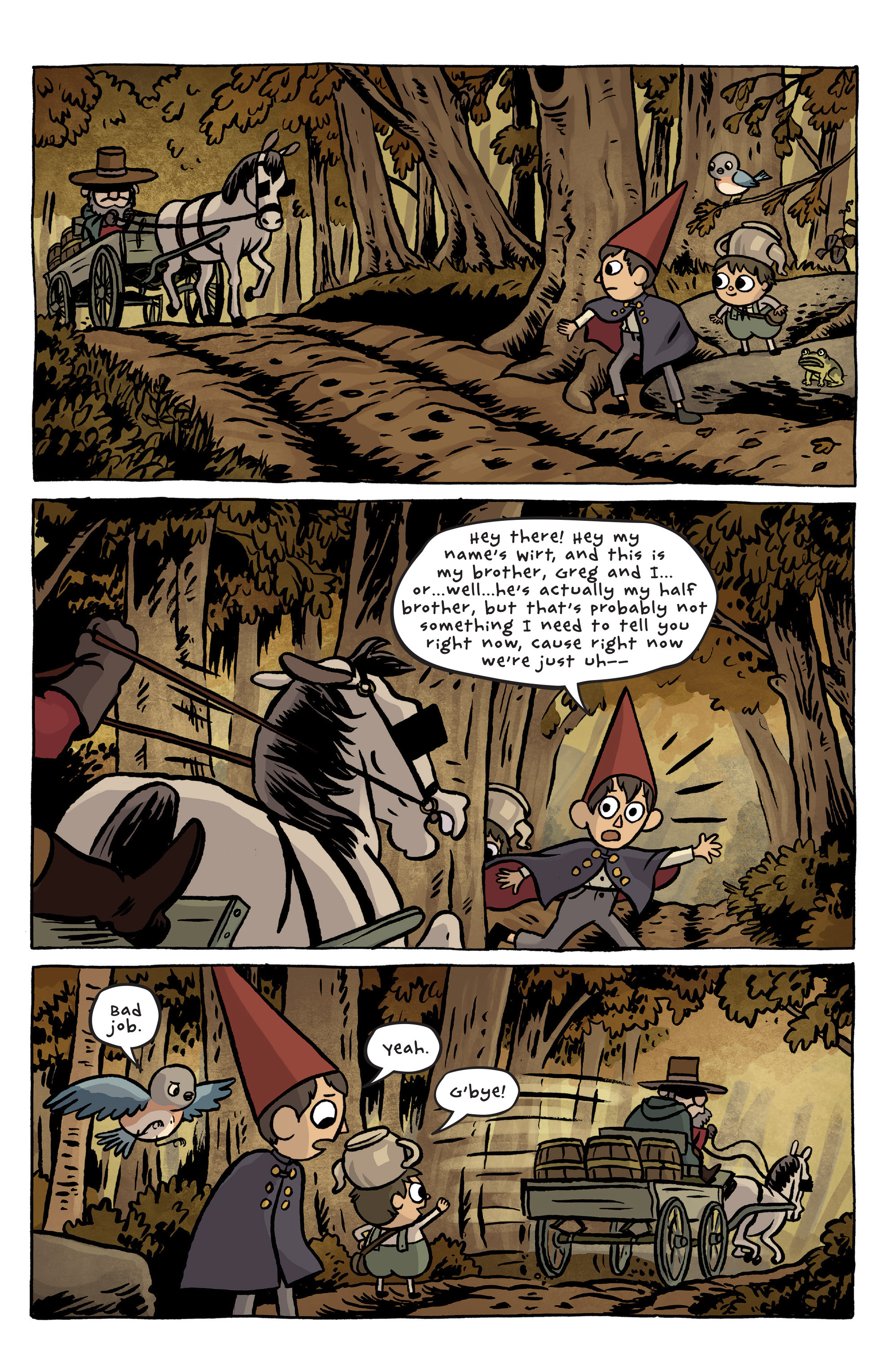 Over the Garden Wall (2015) 1 Page 3