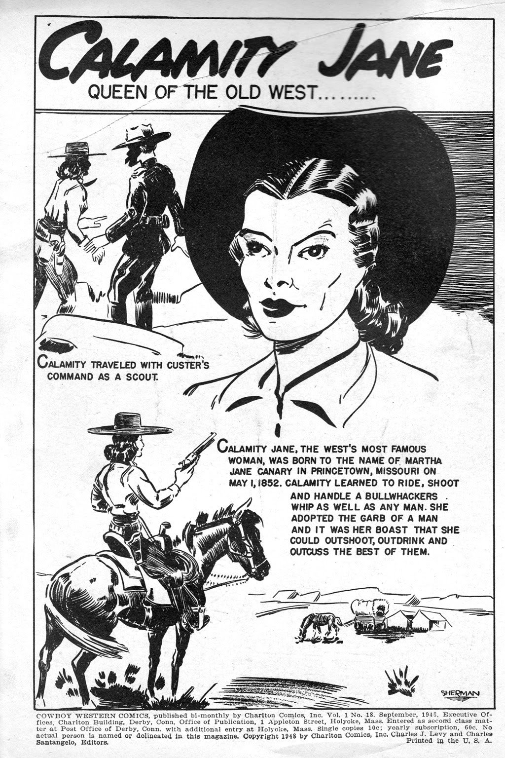 Cowboy Western Comics (1948) issue 18 - Page 2