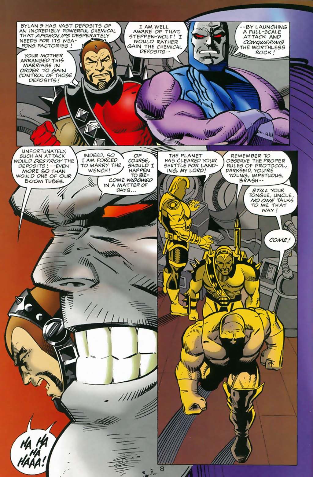 Read online Doomsday Annual comic -  Issue # Full - 9