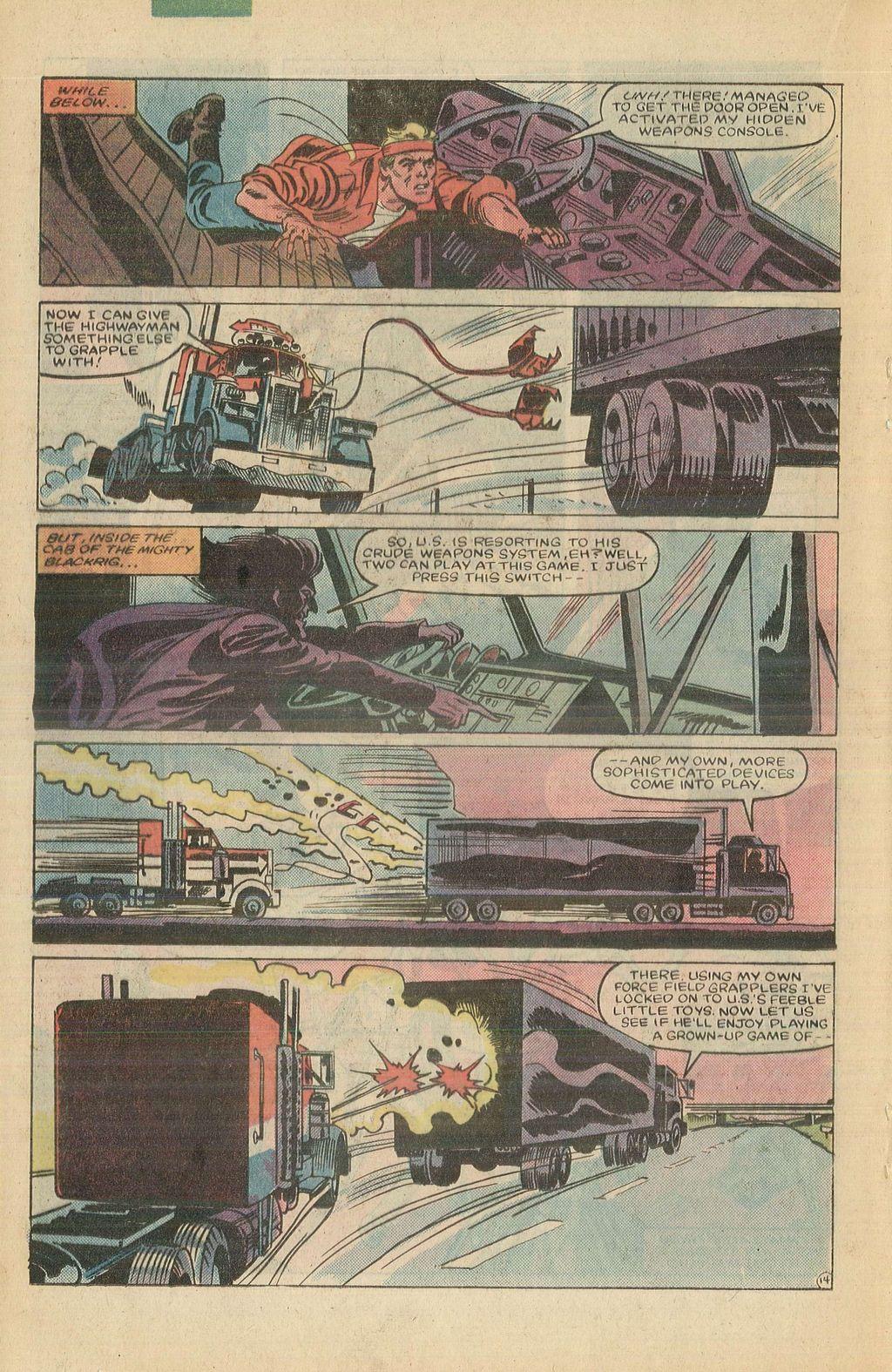 Read online U.S. 1 comic -  Issue #10 - 20