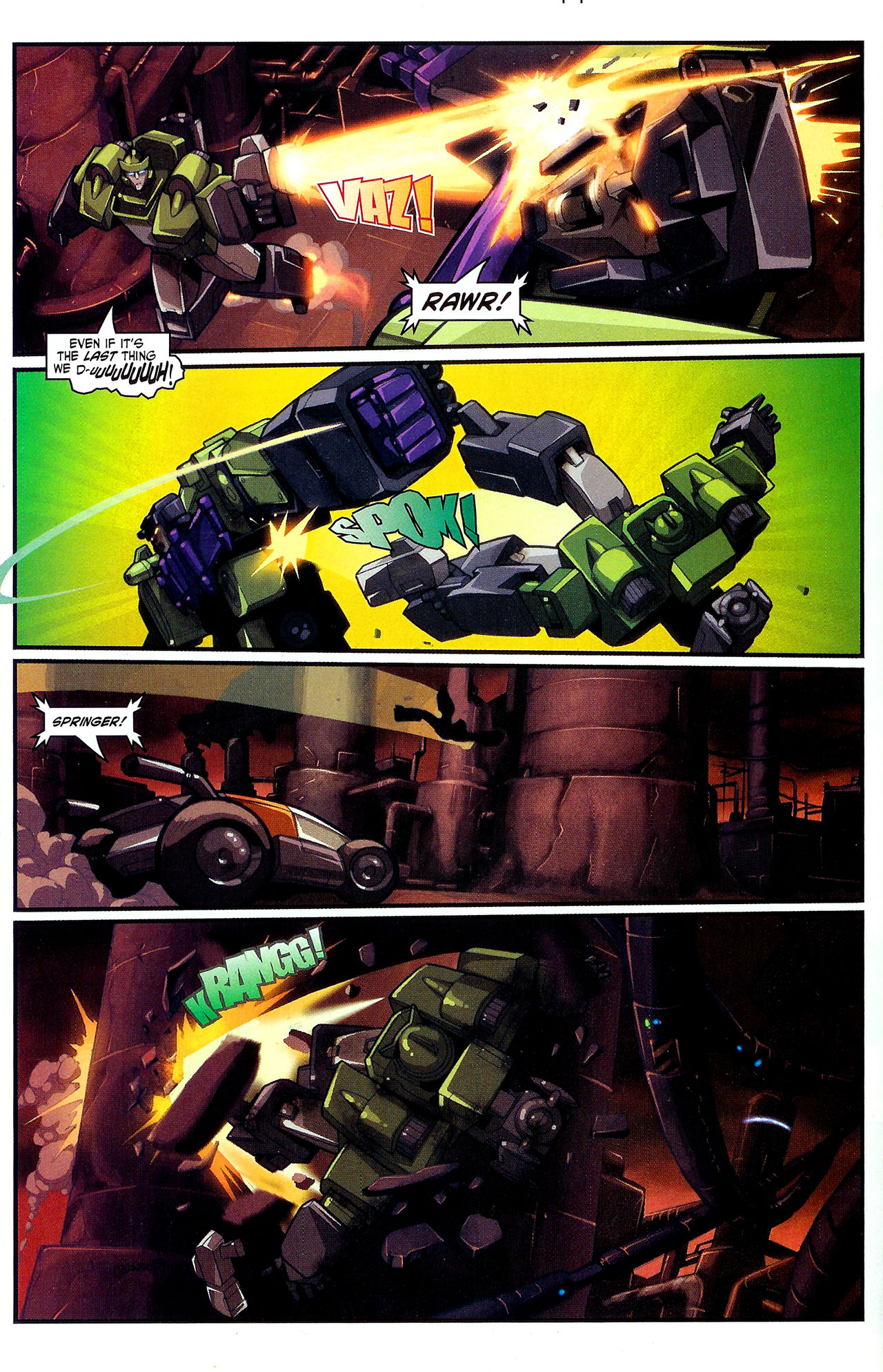 """Read online Transformers War Within: """"The Dark Ages"""" comic -  Issue #2 - 13"""