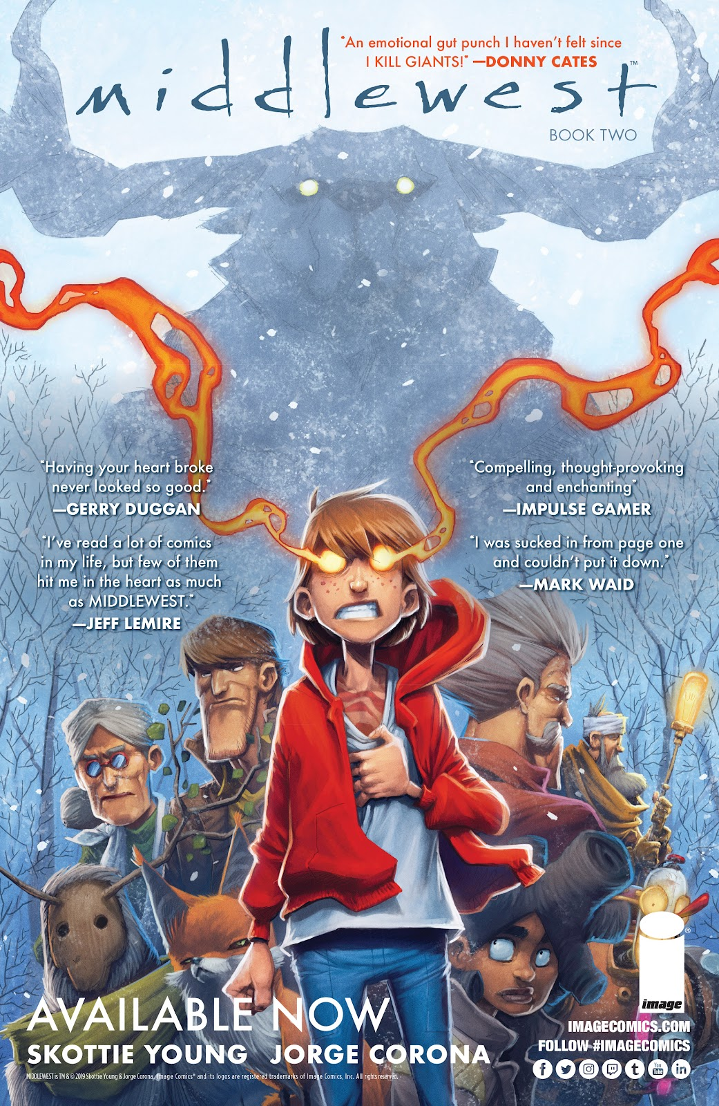 Read online Middlewest comic -  Issue #13 - 28