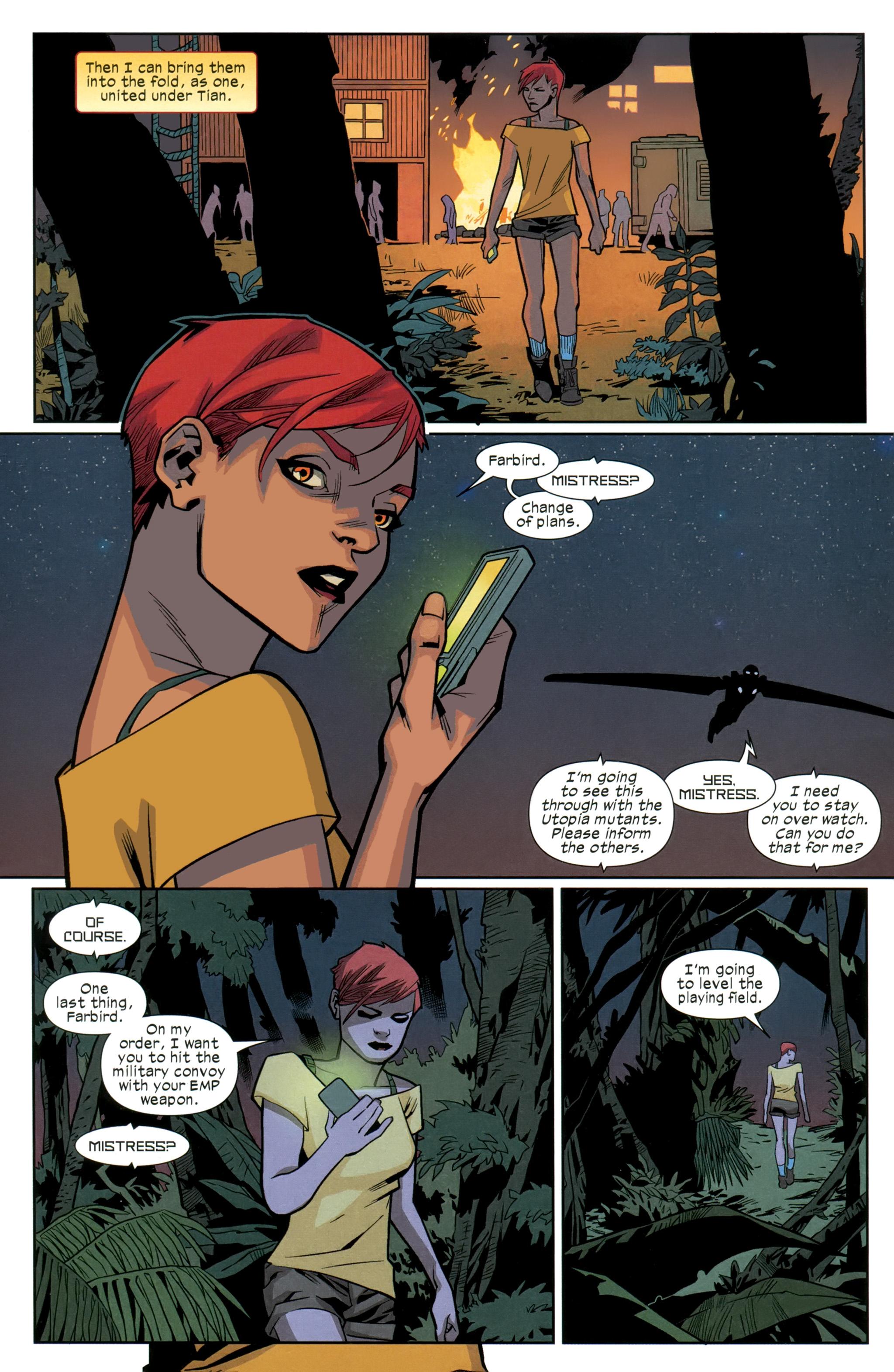 Read online Ultimate Comics X-Men comic -  Issue #26 - 22